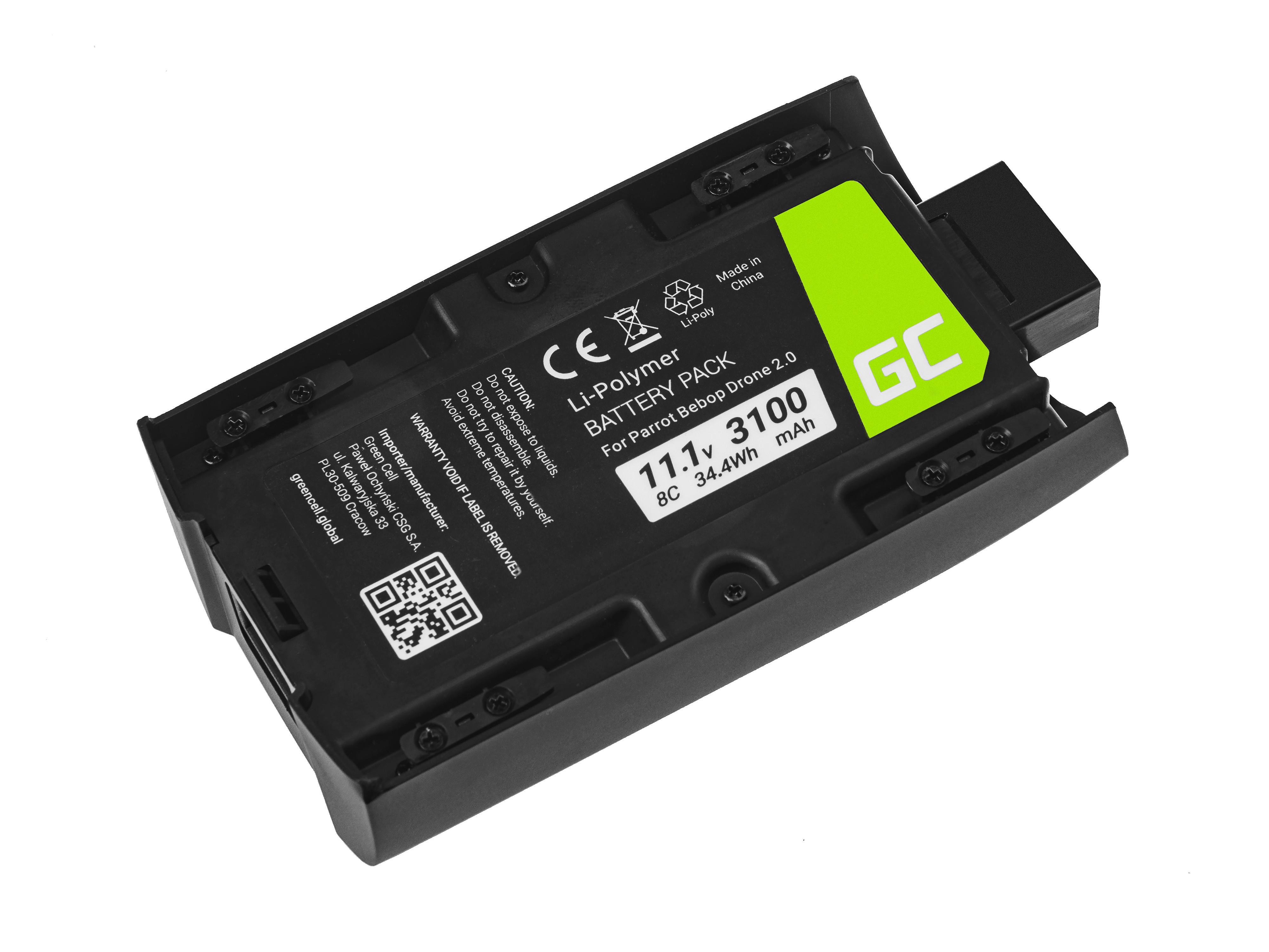 Green Cell Baterie pro Parrot Bebop 2 11.1V 3100mAh