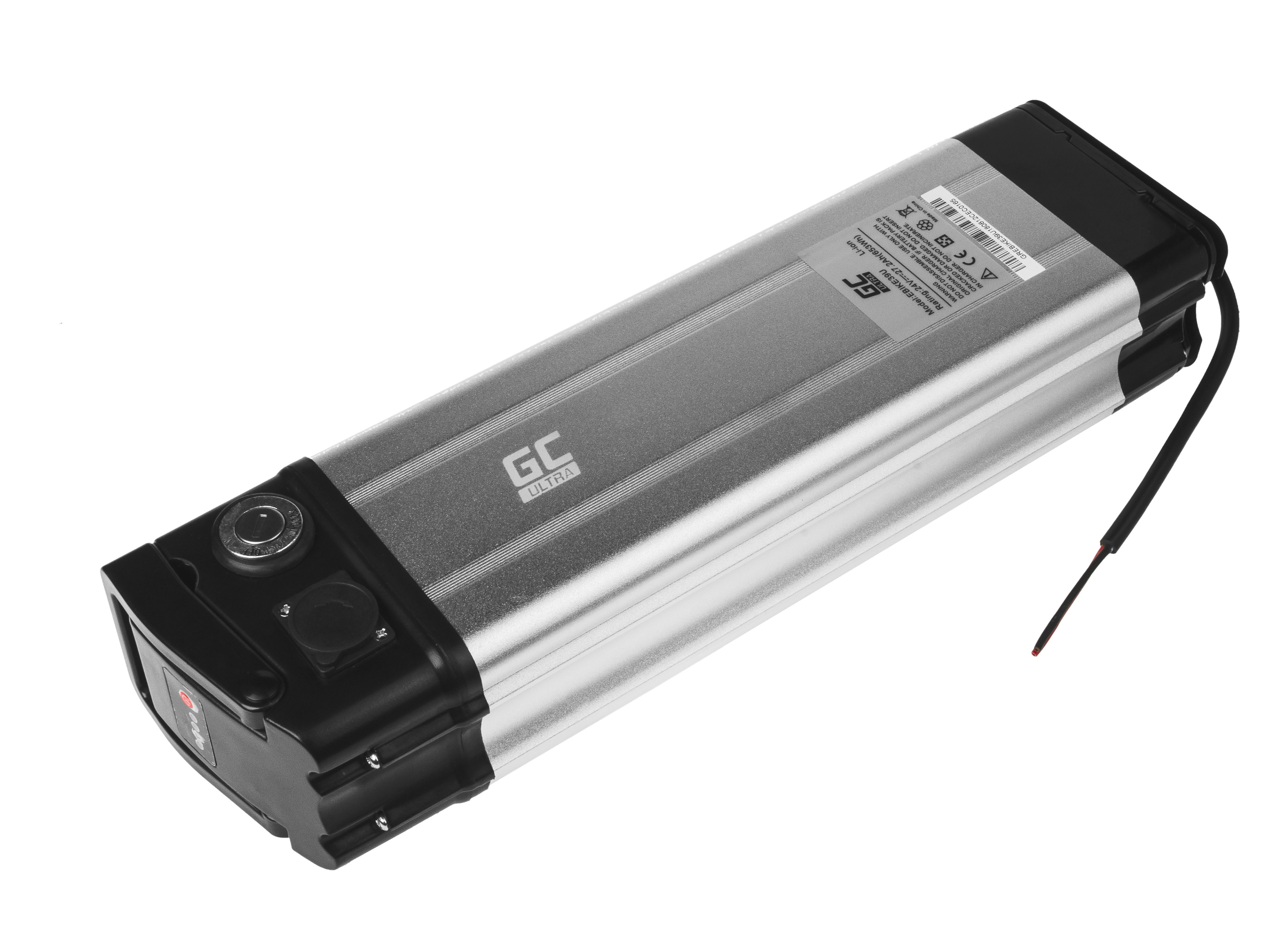 Green Cell eBike Baterie Silverfish 24V 27,2Ah 653Wh E-Bike Pedelec