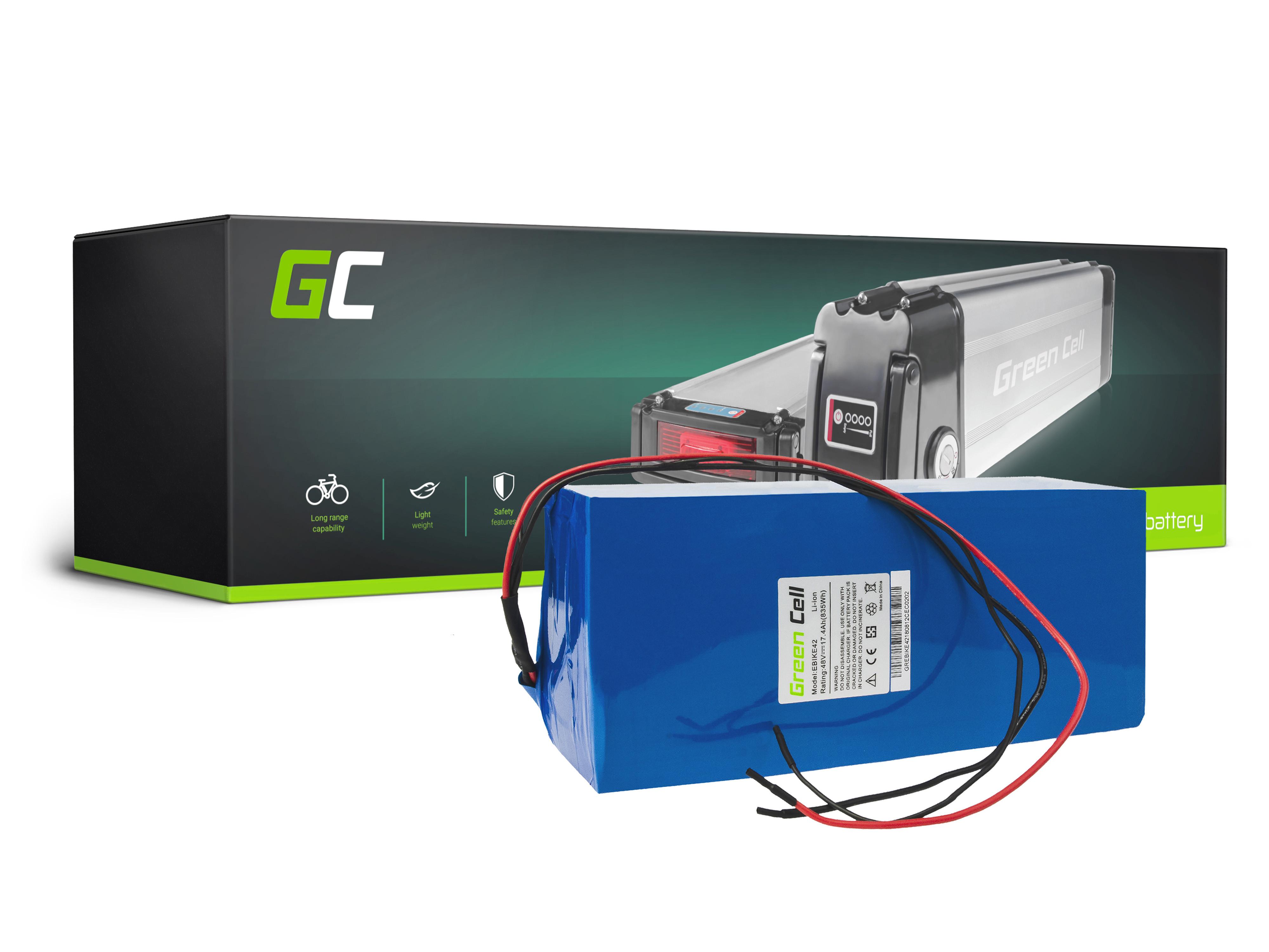 Green Cell eBike Battery Battery Pack 36V 14,5Ah 522Wh E-Bike Pedelec