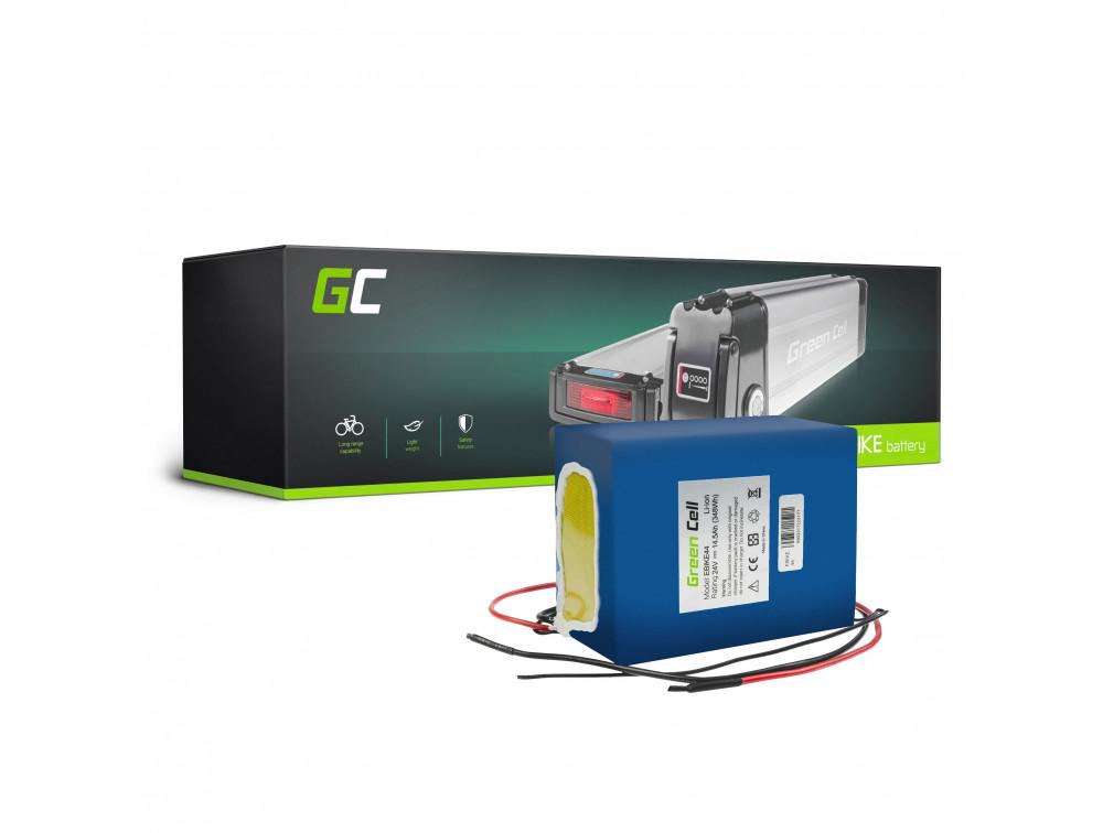Green Cell eBike Akkumulátor 24V 14,5Ah 349Wh E-Bike Pedelec