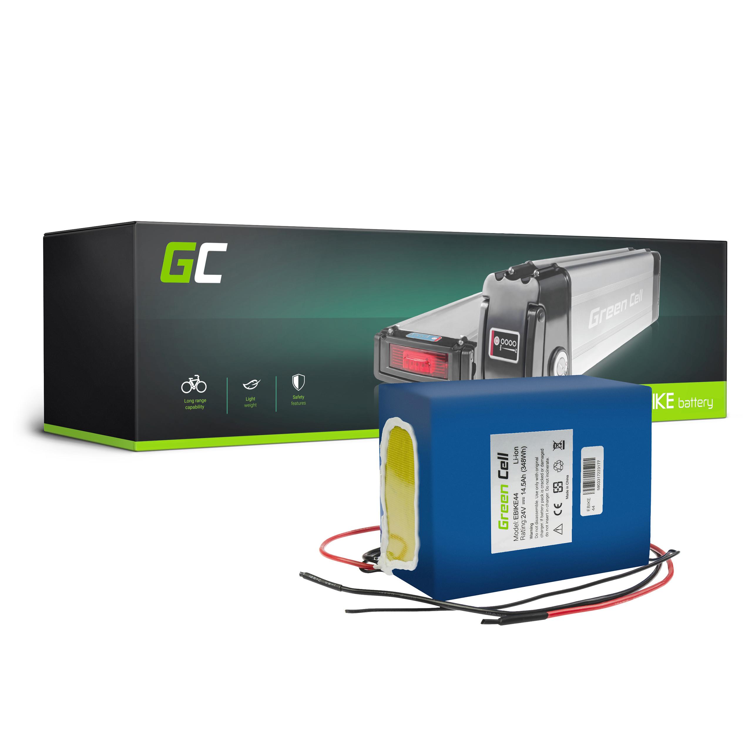 Green Cell eBike Baterie Battery Pack 24V 14,5Ah 349Wh E-Bike Pedelec