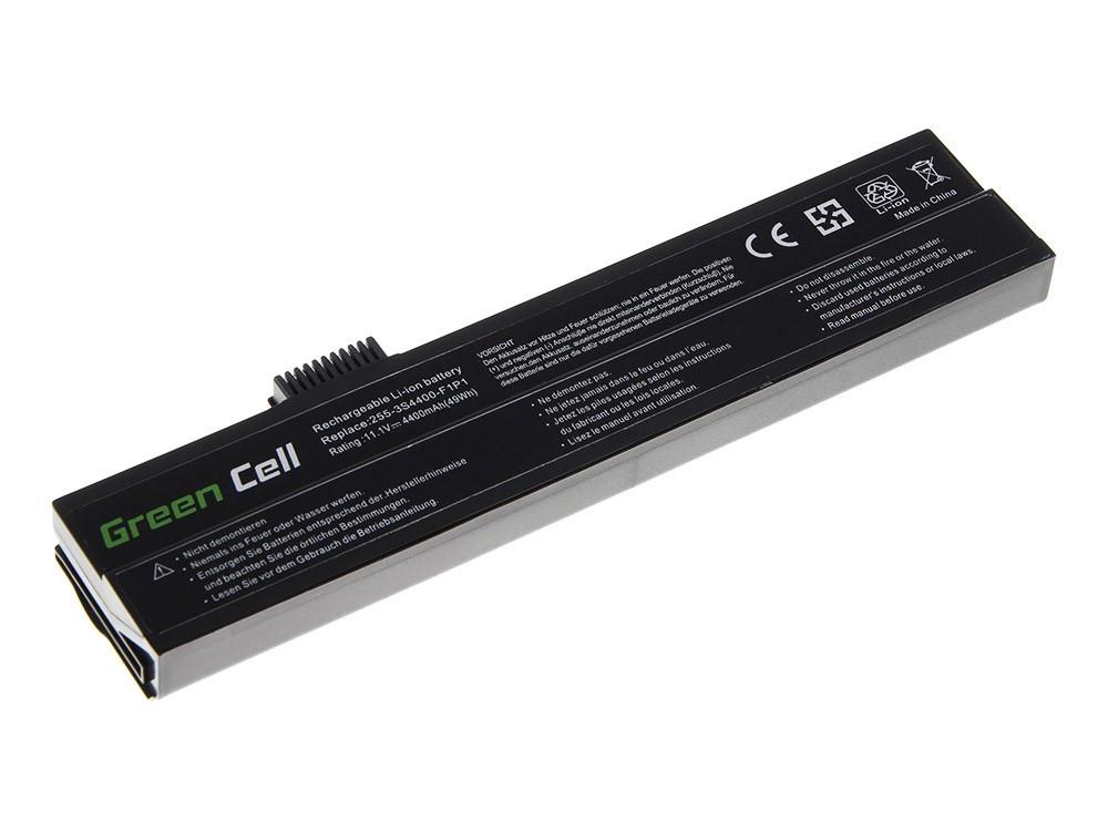 Green Cell Baterie pro Fujitsu-Siemens 3000 5000 7000 / 11,1V 4400mAh