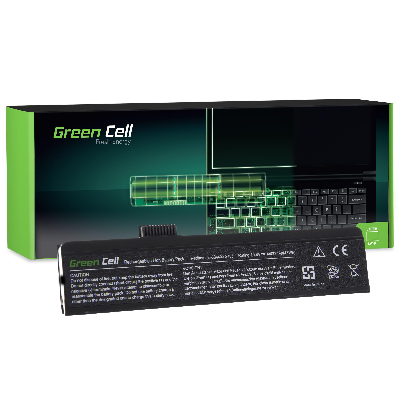 Green Cell Baterie pro Fujitsu-Siemens 3L50 Maxdata Eco 4500 / 11,1V 4400mAh