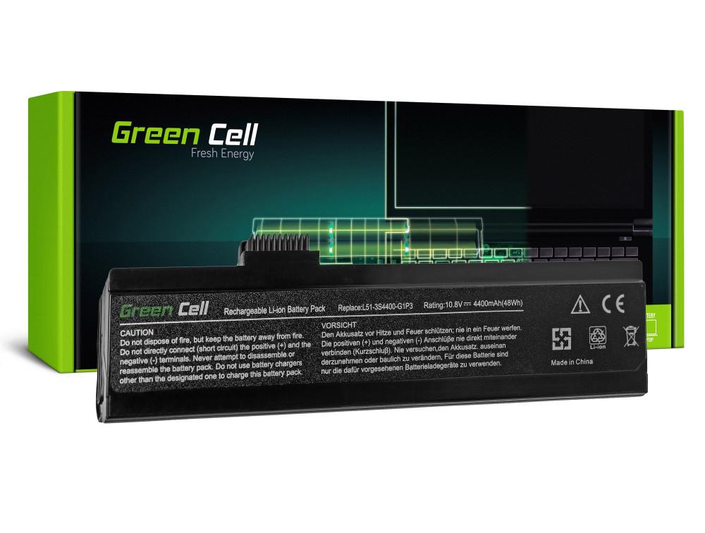 Green Cell akkumulátor Fujitsu-Siemens Maxdata Eco 4511 4511IW / 11,1V 4400mAh