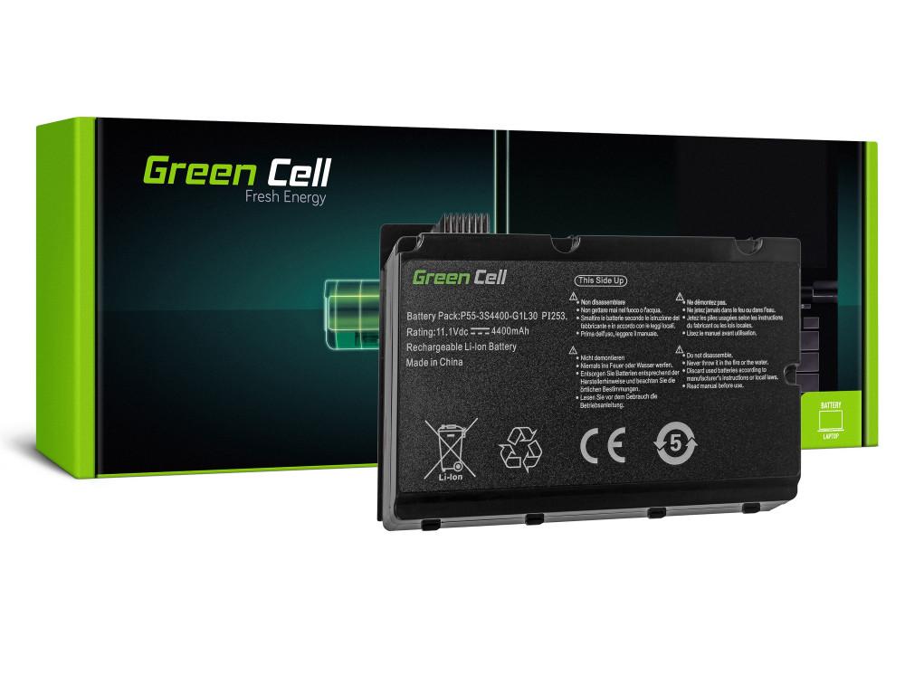 Green Cell akkumulátor Fujitsu-Siemens Amilo Pi2530 Pi2550 Pi3540 Xi2550 / 11,1V 4400mAh