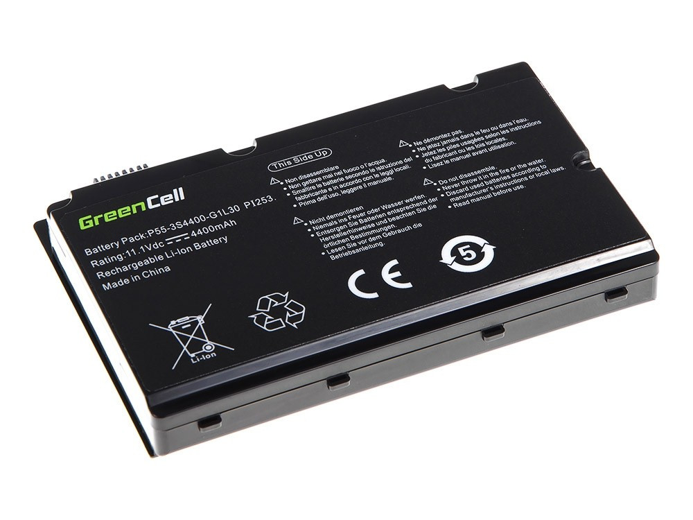 Green Cell Baterie pro Fujitsu-Siemens Amilo Pi2530 Pi2550 Pi3540 Xi2550 / 11,1V 4400mAh
