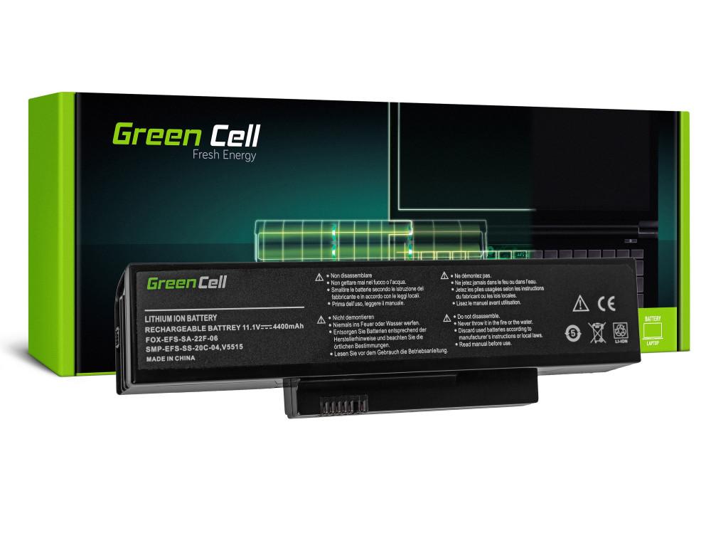 Green Cell akkumulátor Fujitsu-Siemens Esprimo V5515 V5535 V5555 V6515 V6555 / 11,1V 4400mAh