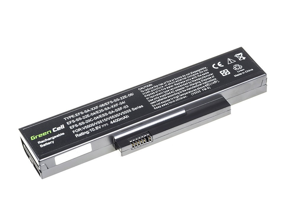 Green Cell FS05 Baterie Fujitsu-Siemens Esprimo Mobile V5515 V5535 V5555 V6515 V6555 4400mAh Li-ion - neoriginální