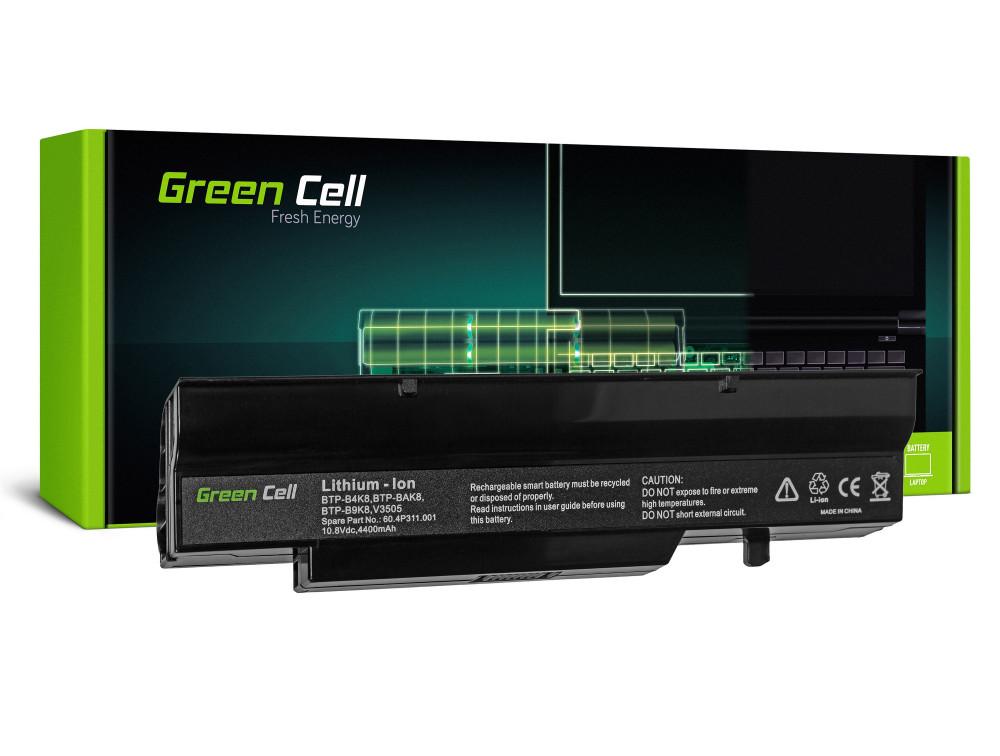 Green Cell akkumulátor Fujitsu-Siemens Esprimo V5505 V6505 / 11,1V 4400mAh