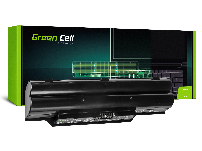Green Cell FS10 Baterie Fujitsu-Siemens FPCBP250 for Fujitsu LifeBook AH530 AH531 A530 A531 4400mAh Li-ion - neoriginální