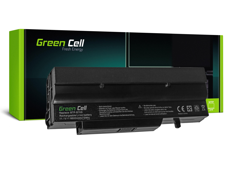 Green Cell FS11 Baterie Fujitsu-Siemens V5505/V6535/V5545/V6505/V6555/V3405/V3525 6600mAh Li-ion - neoriginální