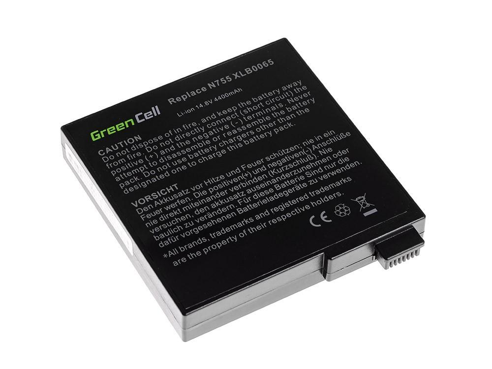 Green Cell Baterie pro Fujitsu-Siemens Amilo A8620 A7620 D6830 D7800 D7830 / 14,4V 4400mAh