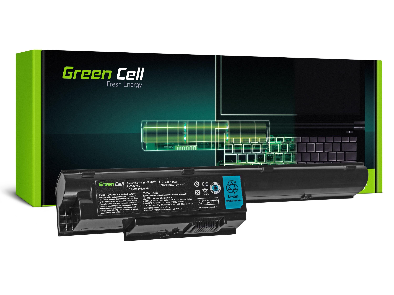 Green Cell Baterie pro Fujitsu-Siemens LifeBook BH531 LH531 SH531 / 11,1V 4400mAh
