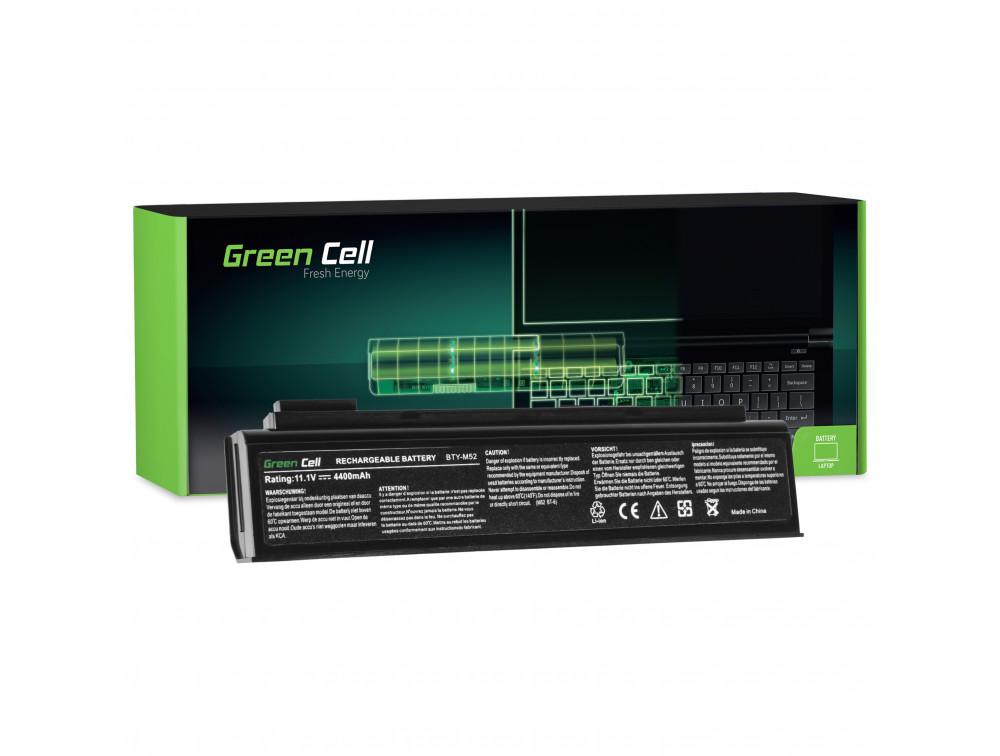 Green Cell akkumulátor MSI Megabook ER710 ER710X L730 L735 L740 / 11,1V 4400mAh