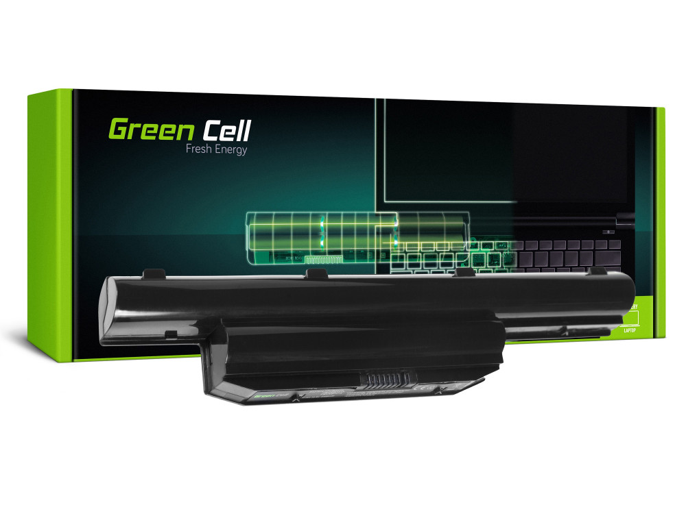 Green Cell akkumulátor Fujitsu LifeBook LH532 / 11,1V 4400mAh