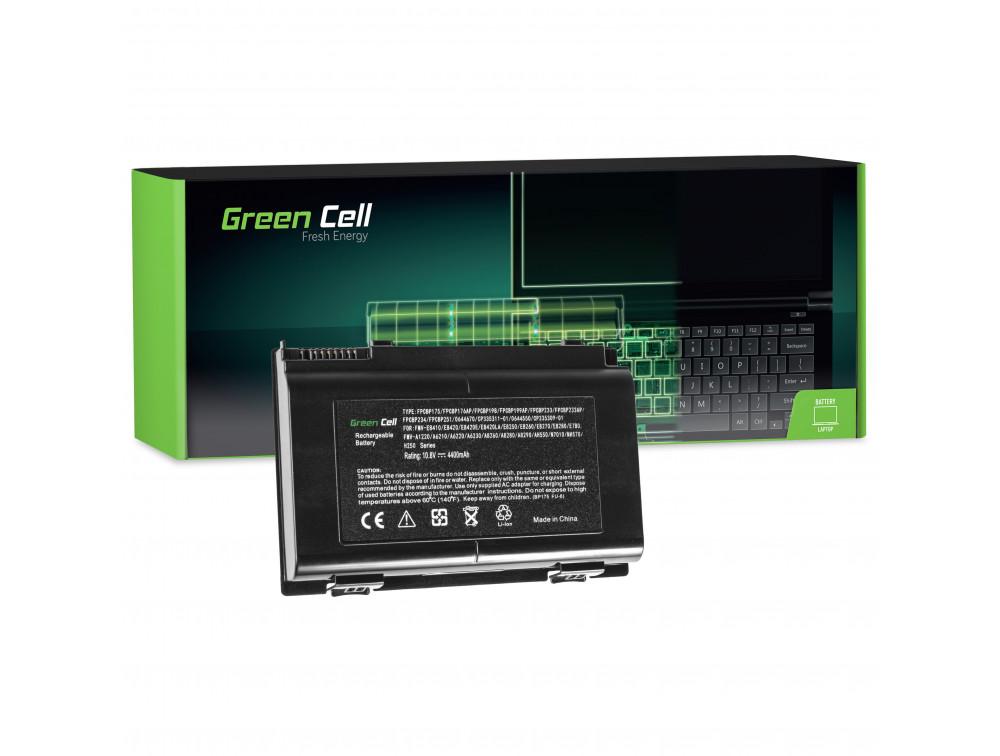 Green Cell akkumulátor Fujitsu-Siemens LifeBook E8410 E8420 E780 N7010 AH550 NH570 / 11,1V 4400mAh