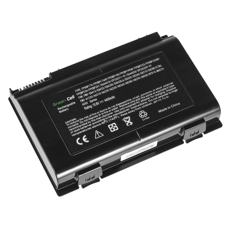 Green Cell FS27 Baterie Fujitsu LifeBook A8280 AH550 E780 E8410 E8420 N7010 NH570 4400mAh Li-ion - neoriginální