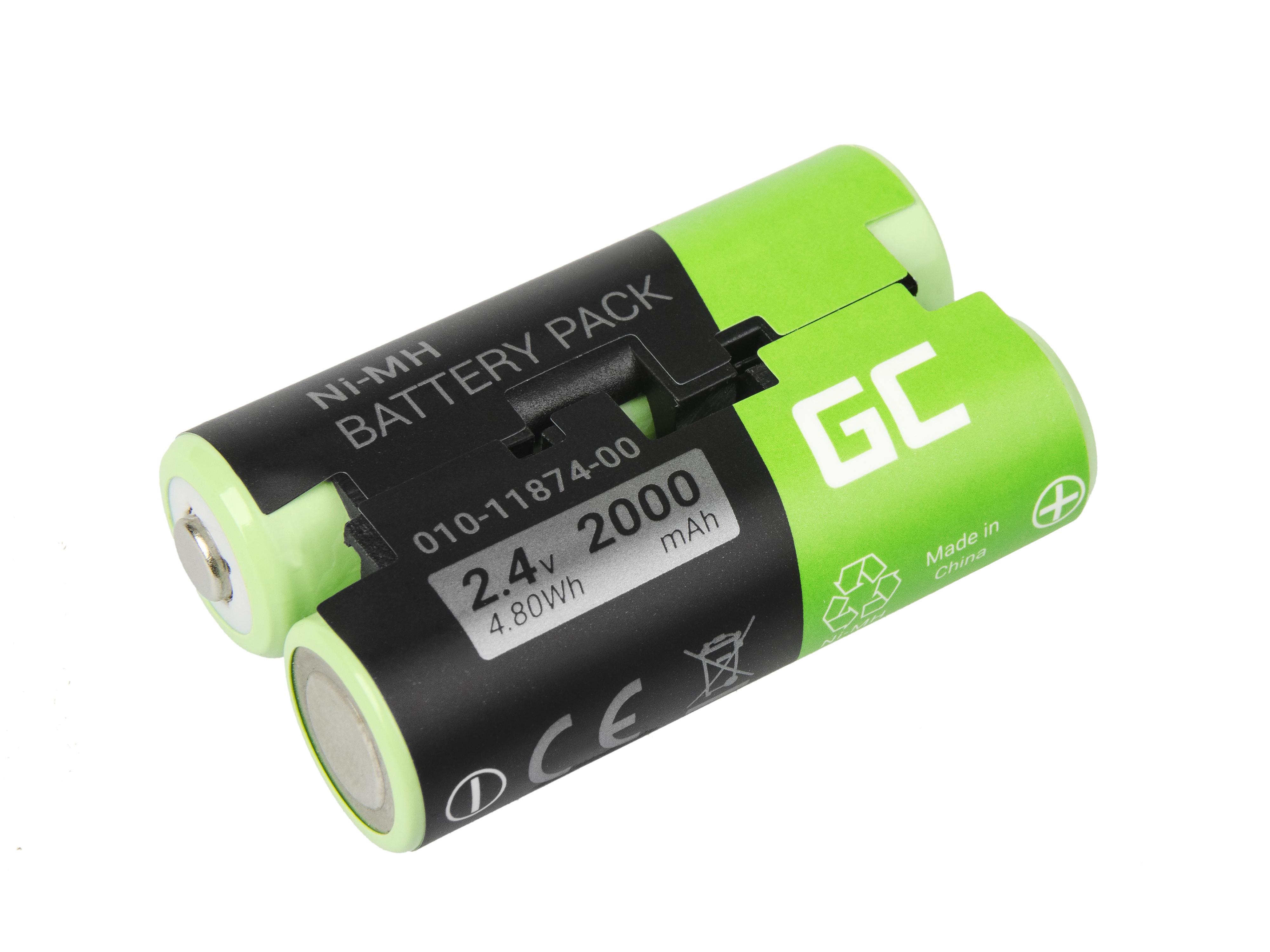 Green Cell Baterie Garmin 010-11874-00 pro GPS Garmin Astro 430 900 GPSMAP 62s 66st PRO Oregon 600t 650 750t PRO, 2000mAh Ni-MH - neoriginální
