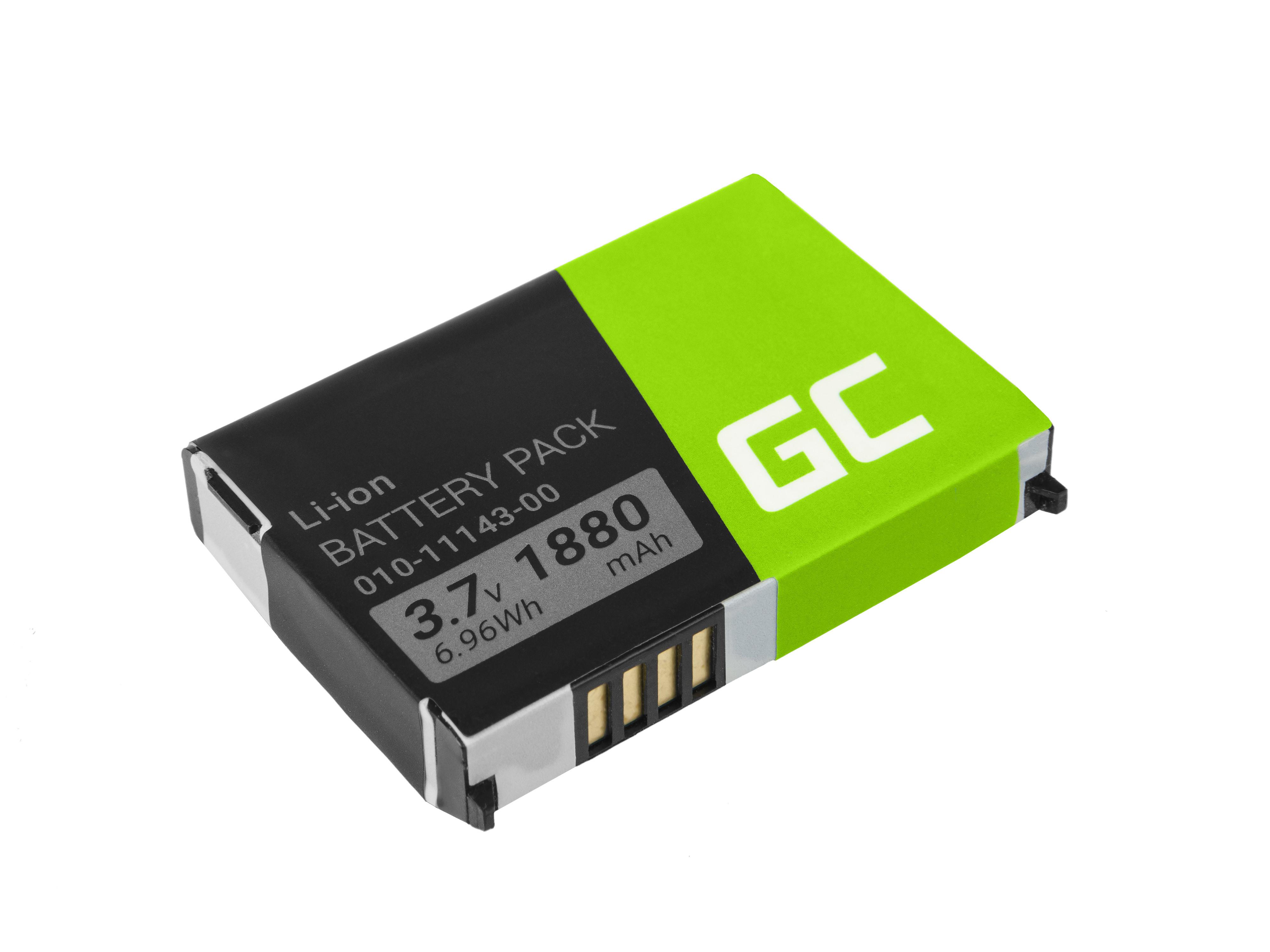Green Cell Baterie Garmin 010-11143-00 pro GPS Garmin Aera 500 510 550 560 Nuvi 500 510 550 Zumo 210 600 650 660 1880mAh Li-ion - neoriginální