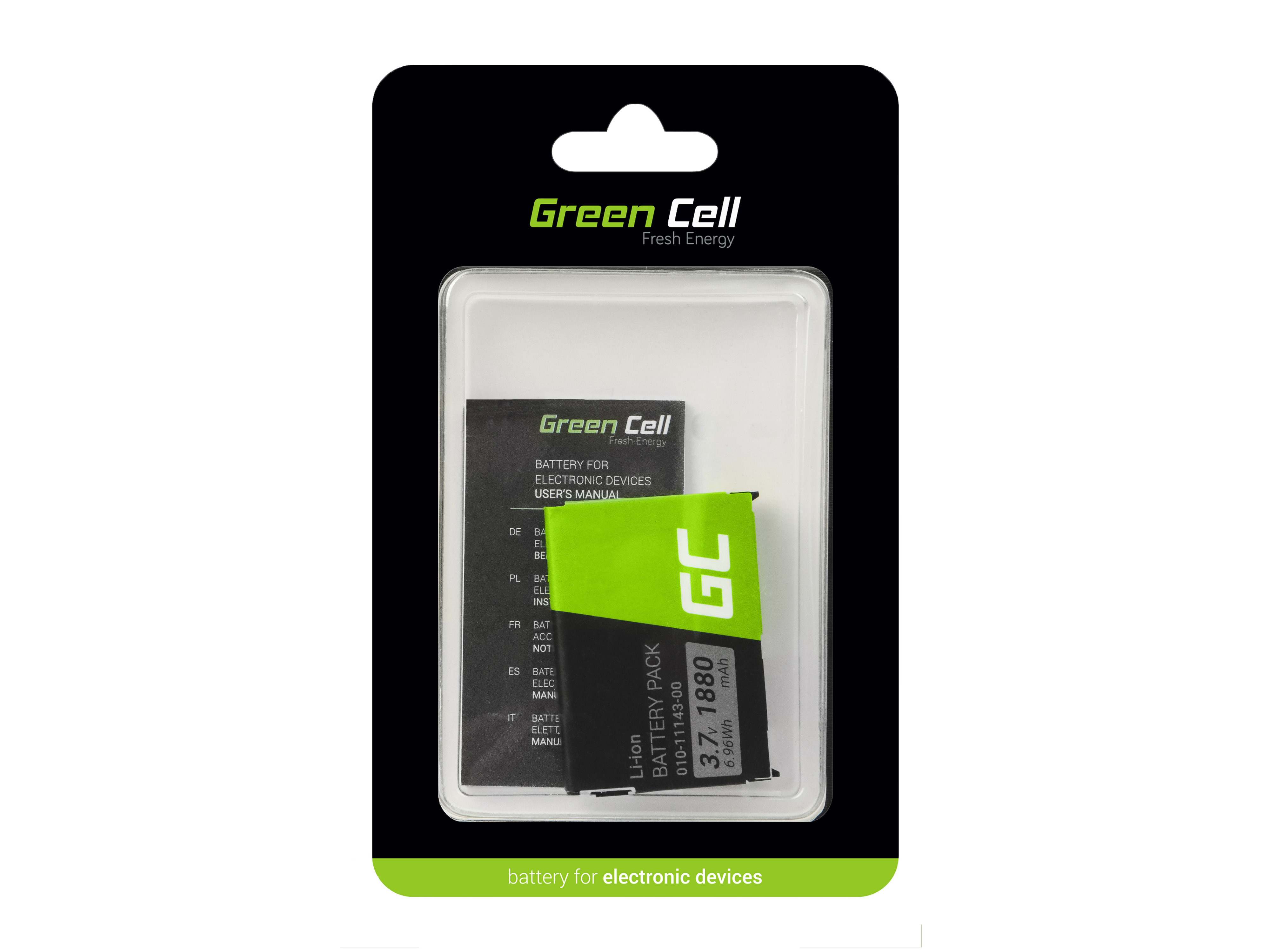Green Cell GPS Baterie 010-11143-00 Garmin SafeNav Aera 500 Zumo 220 660LM