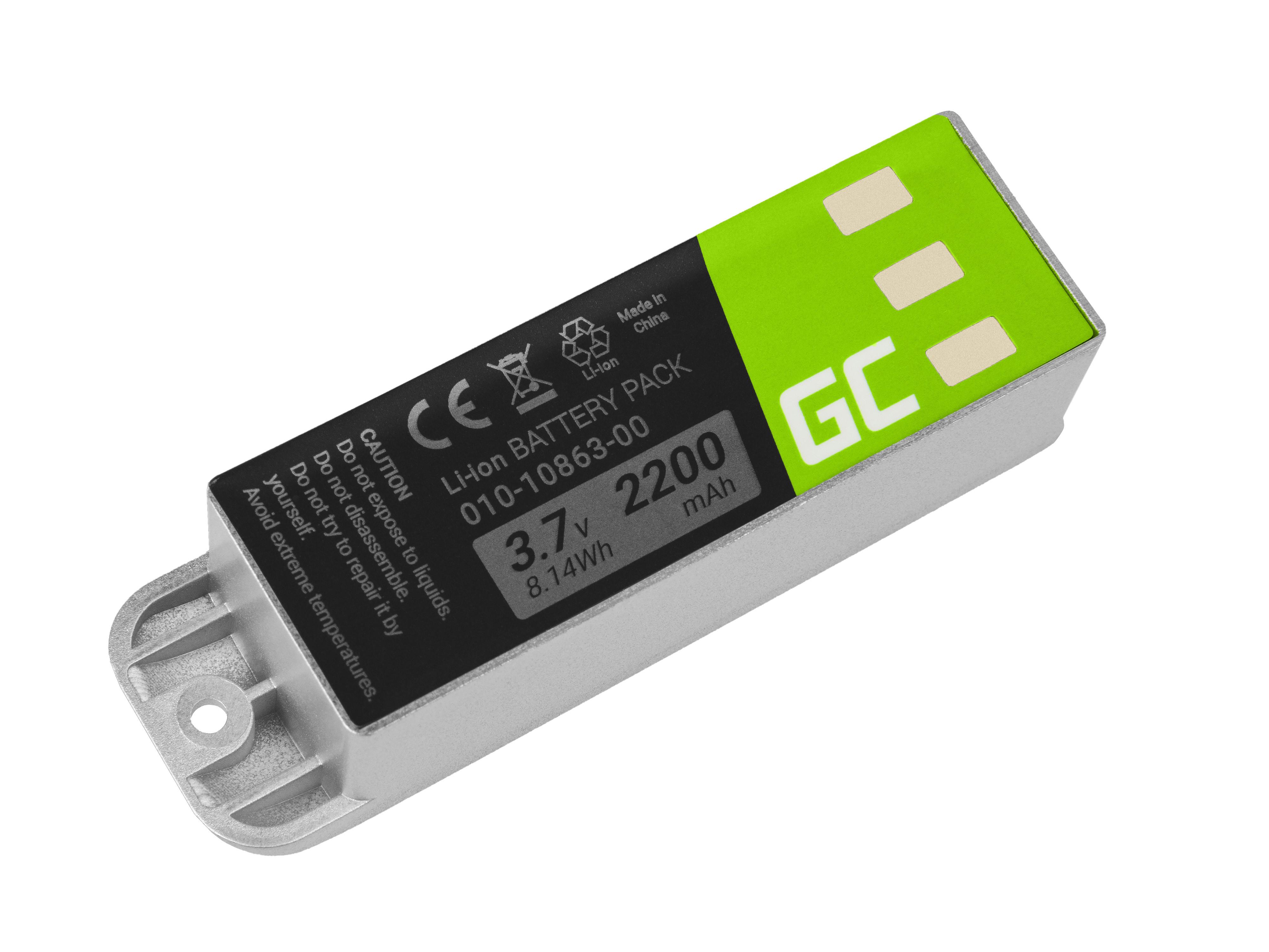 Green Cell Baterie Garmin 010-10863-00 011-01451-00 pro GPS Garmin Zumo 400 450 500 550 400 GP 500 GP 500 Deluxe 2200mAh Li-ion - neoriginální