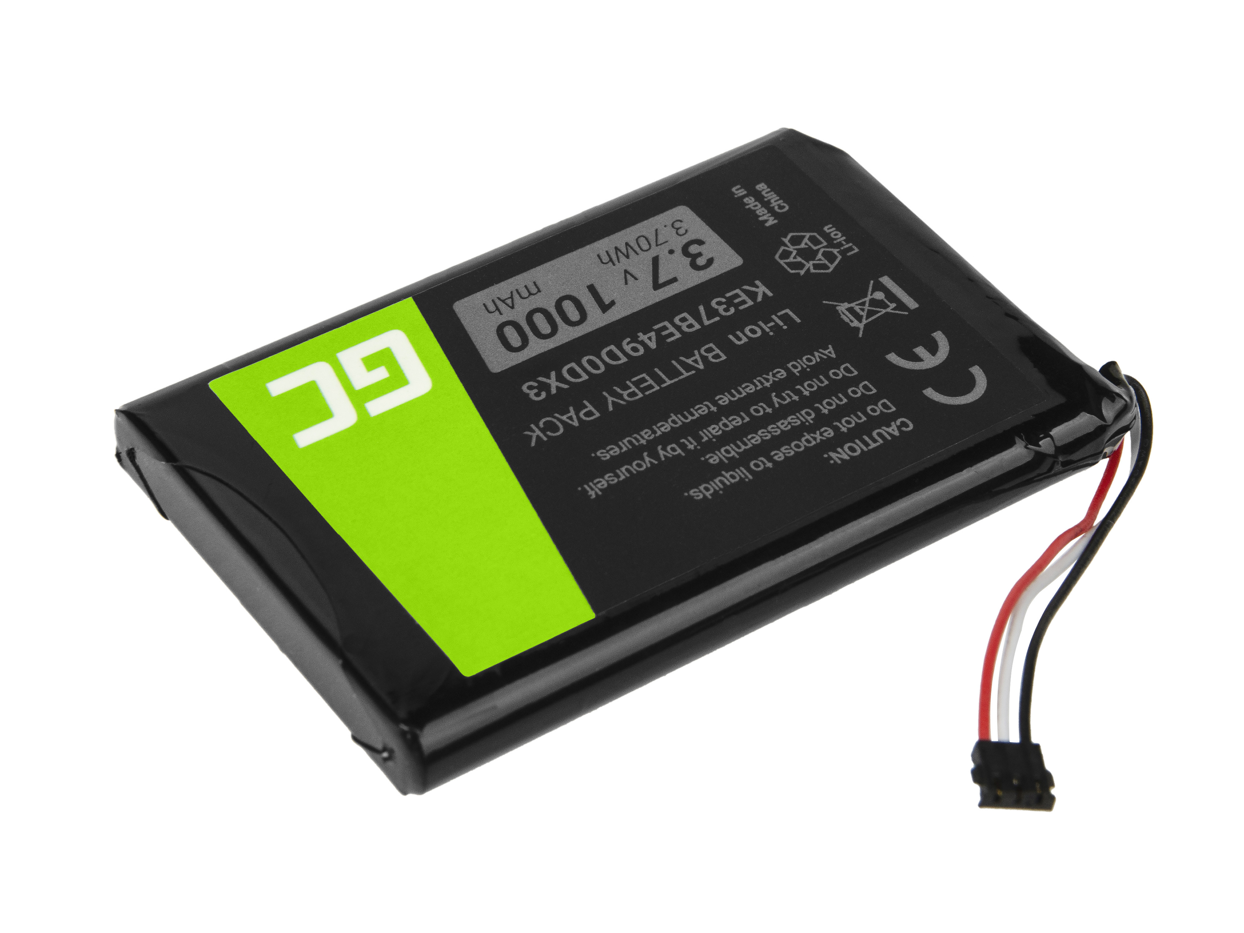 Green Cell GPS Baterie KE37BE49D0DX3 361-00035-00 Garmin Edge 800 810 Nuvi 1200 2300 2595LM