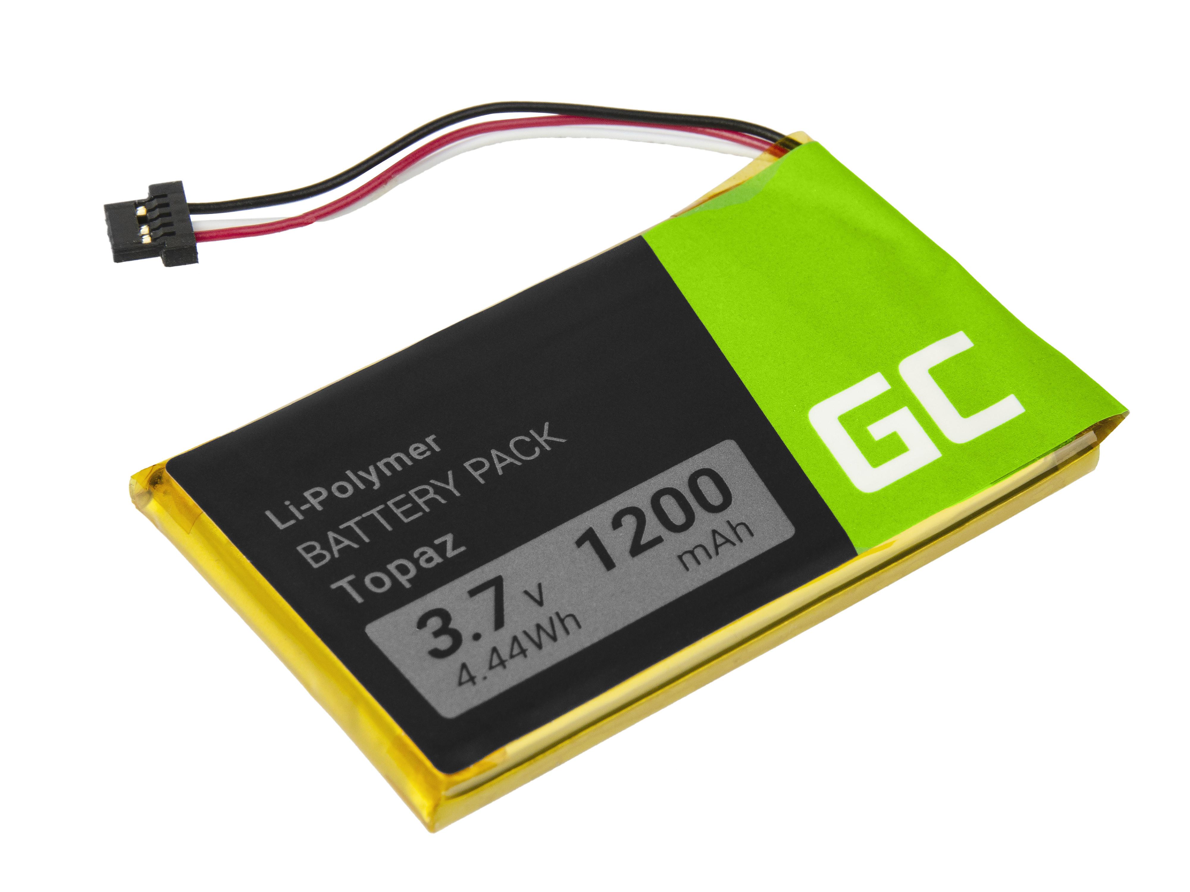 Green Cell Baterie Topaz pro GPS Navigon 70 Plus 70/71 Plus 70/71 Premium 70/71 Easy 1200mAh Li-Pol – neoriginální