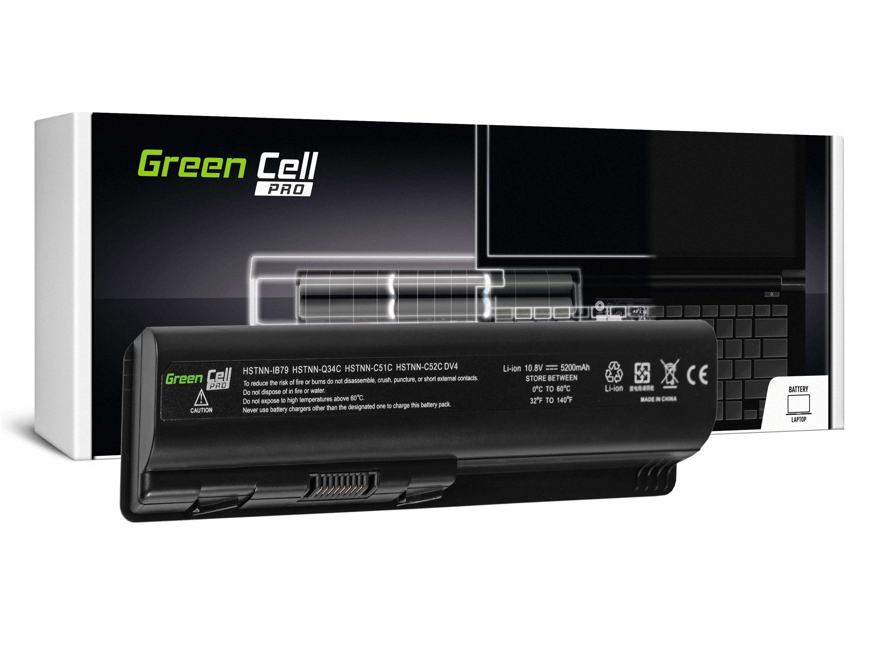 Green Cell PRO Baterie pro HP DV4 DV5 DV6 CQ60 CQ70 G50 G70 / 11,1V 5200mAh