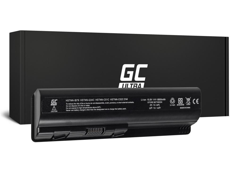 Green Cell ULTRA akkumulátor HP DV5 DV6 DV4 CQ60 CQ70 G50 G70 / 11,1V 6800mAh
