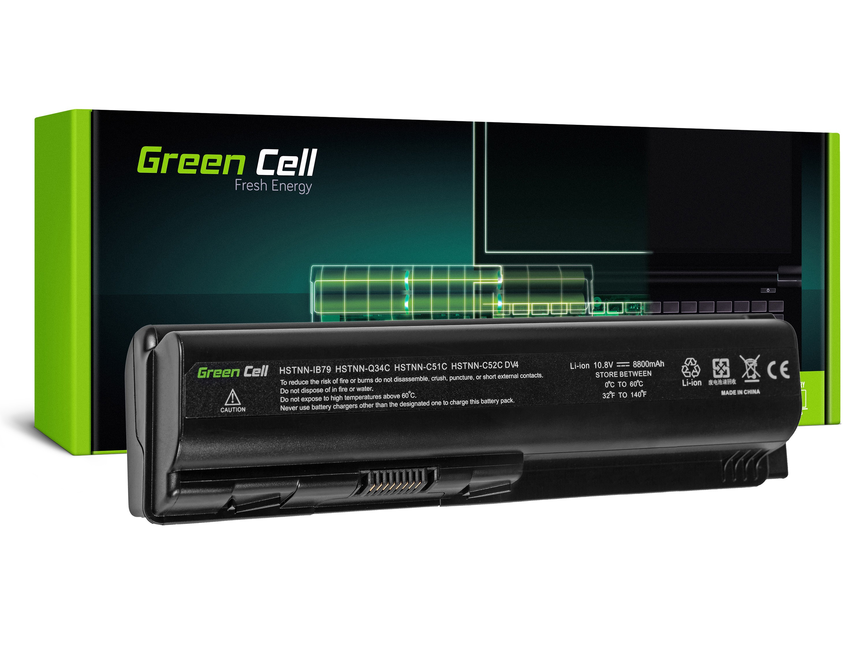 Green Cell HP02 Baterie HP Pavilion Compaq Presario ze serie DV4 DV5 DV6 CQ60 CQ70 8800mAh Li-ion - neoriginální