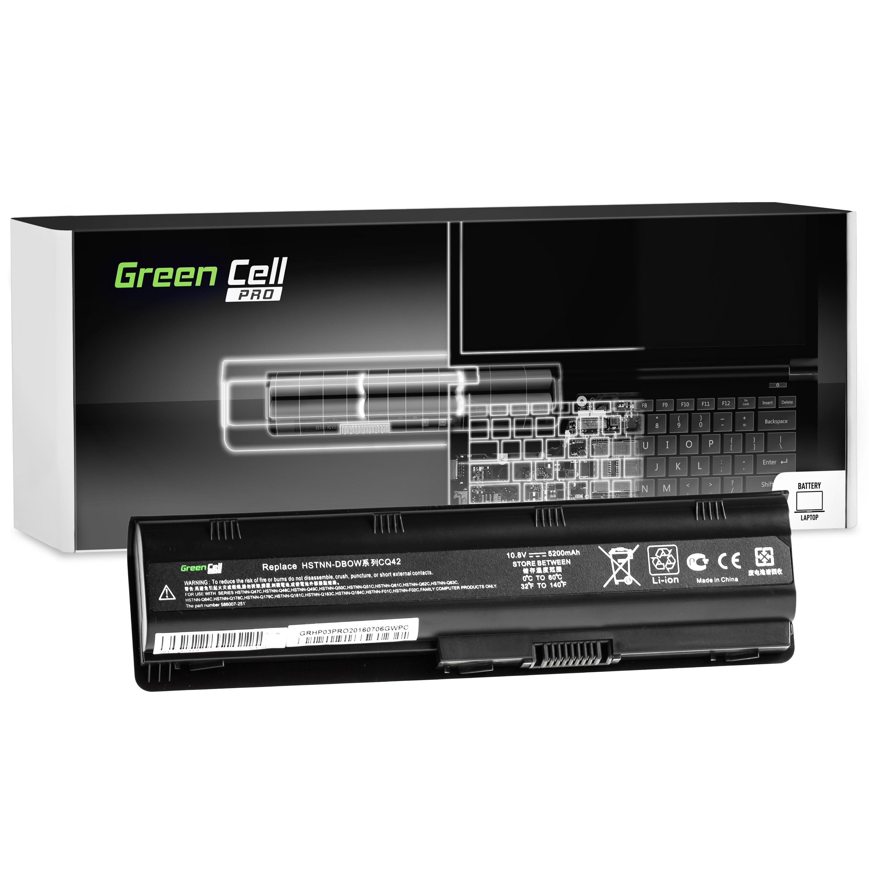 Green Cell HP03PRO Baterie HP 635 650 655 2000 Pavilion G6 G7 Compaq 635 650 Compaq Presario CQ62 5200mAh Li-ion - neoriginální