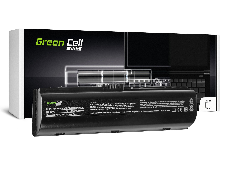 Green Cell HP05PRO Baterie HP Pavilion DV2000 DV6000 DV6500 DV6700 Compaq Presario 3000 5200mAh Li-ion - neoriginální