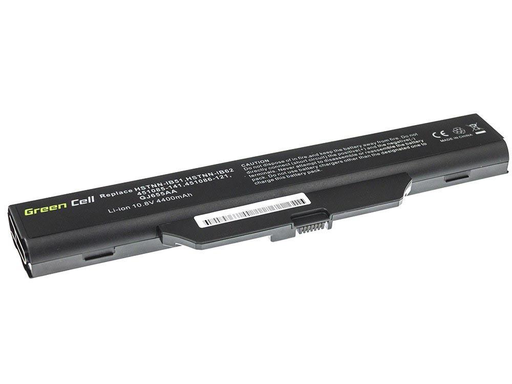 Green Cell HP08 Baterie HP 550 COMPAQ 610 6720s 6730s 6735s 6830s 4400mAh Li-ion - neoriginální