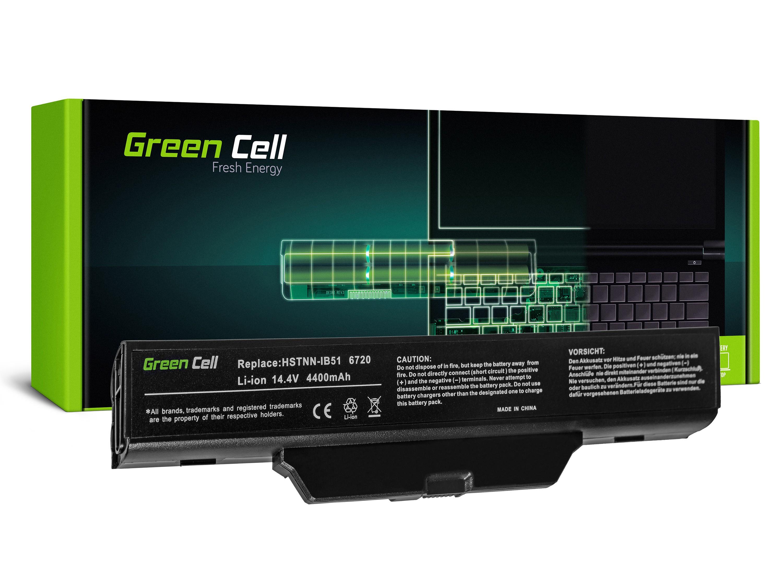 Green Cell HP09 Baterie HP 550 610 615 Compaq 550 610 615 6720 6830 4400mAh Li-ion - neoriginální