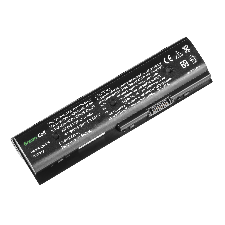 Green Cell Baterie pro HP Pavilion DV6-7000 DV7-7000 M6 / 11,1V 6600mAh