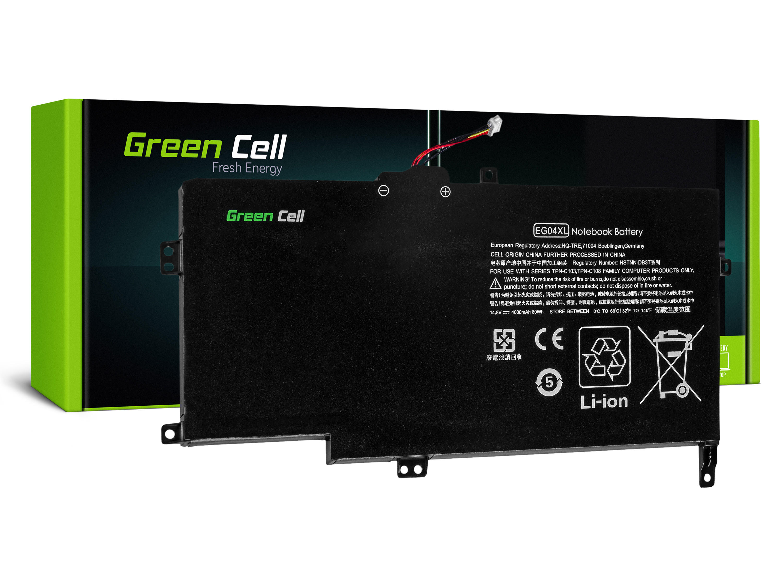 Green Cell HP115 Baterie HP EG04XL HP Envy 6 6-1030EW 6-1040EW 6-1130SW 60Wh Li-Pol - neoriginální