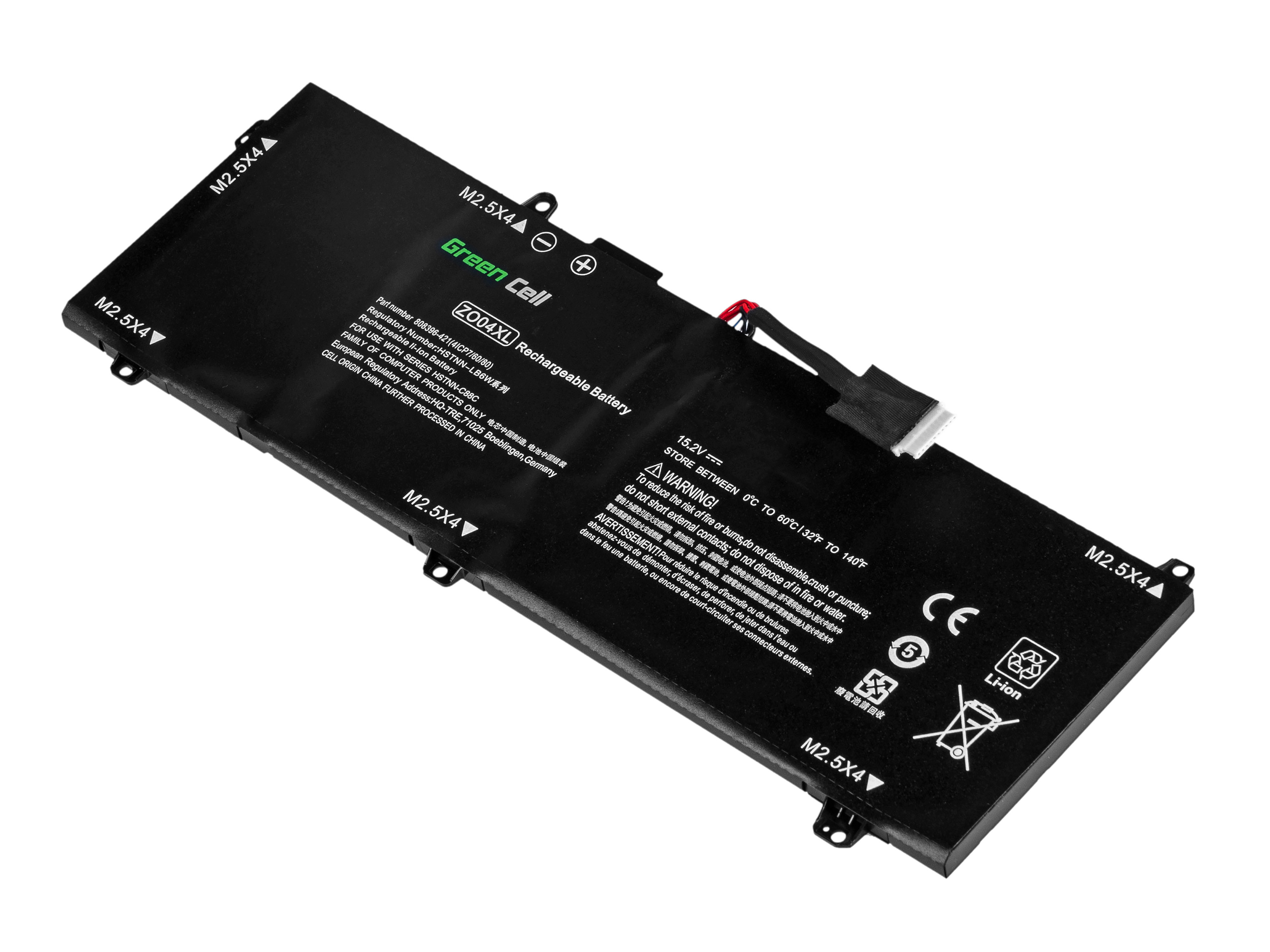 Green Cell Baterie pro HP ZBook Studio G3 / 15,2V 3400mAh