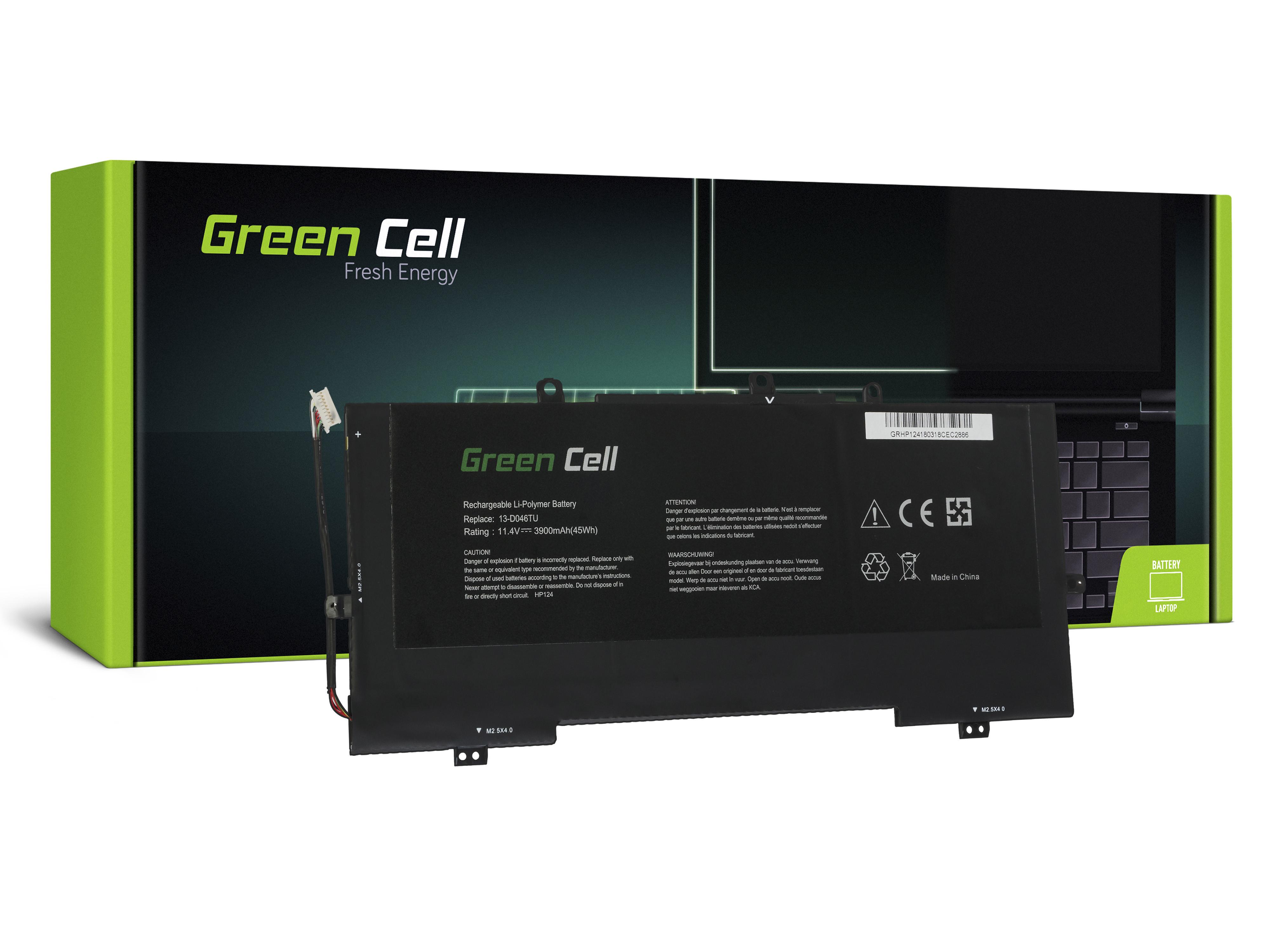 Green Cell Baterie pro HP Envy 13 13T / 11,4V 3900mAh