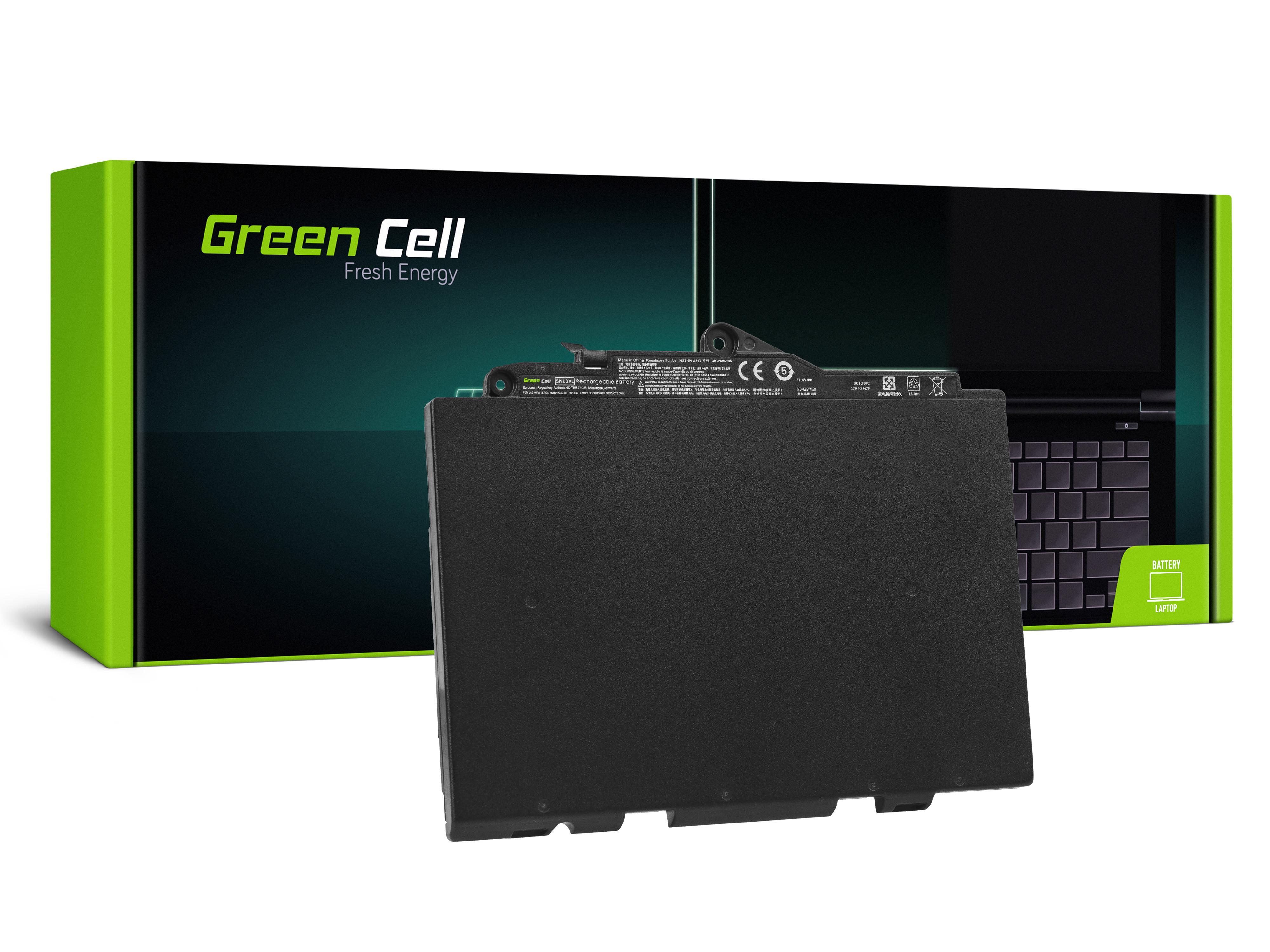 Green Cell HP143 Baterie HP SN03XL HP EliteBook 725 G3 820 G3 2800mAh Li-Pol - neoriginální