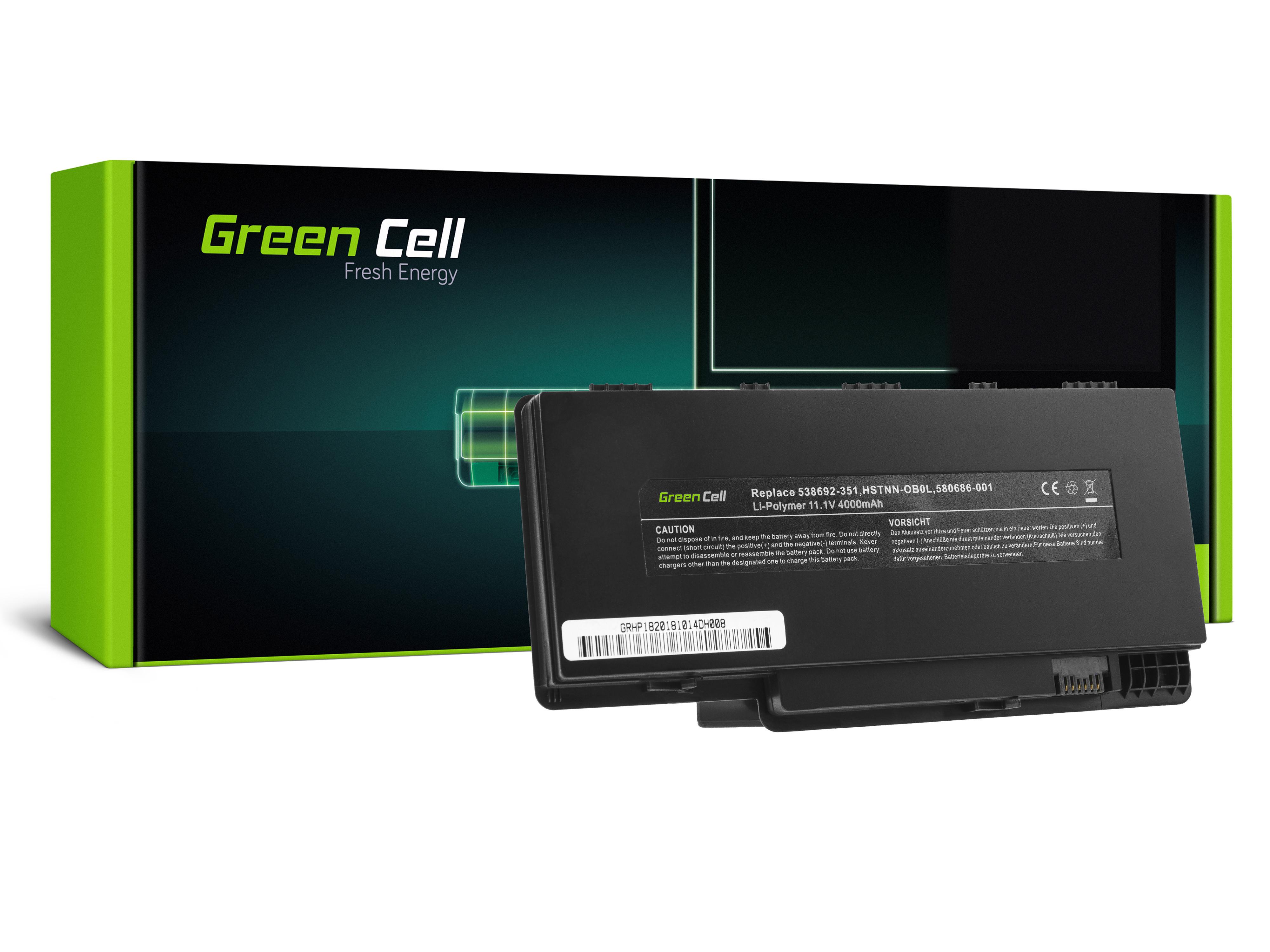 Green Cell HP146 Baterie HP Pavilion DM3 DM3Z DM3T DV4-3000 4000mAh Li-ion - neoriginální