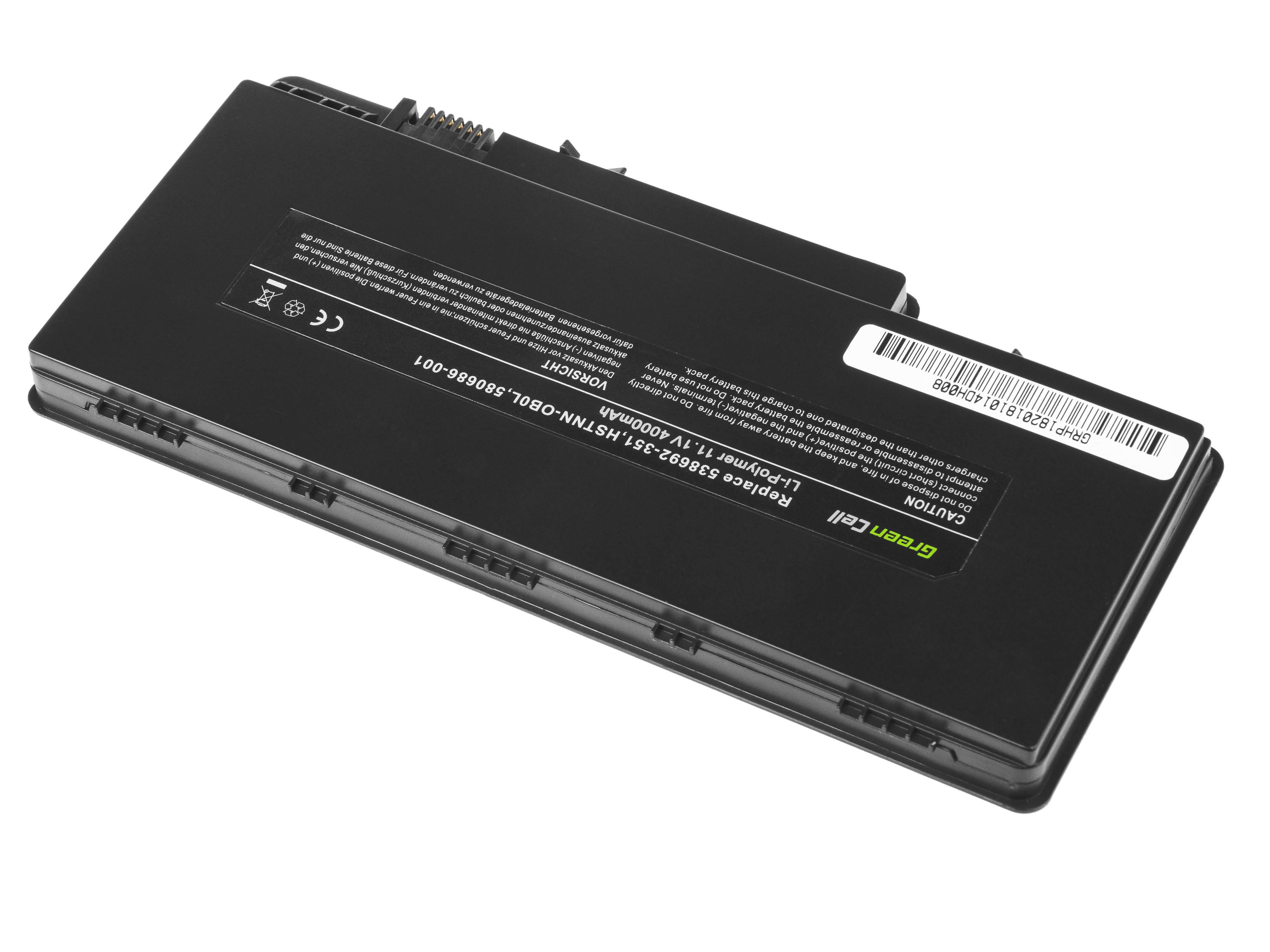 Green Cell Battery for HP Pavilion DM3 DM3T DM3Z / 11,1V 4000mAh