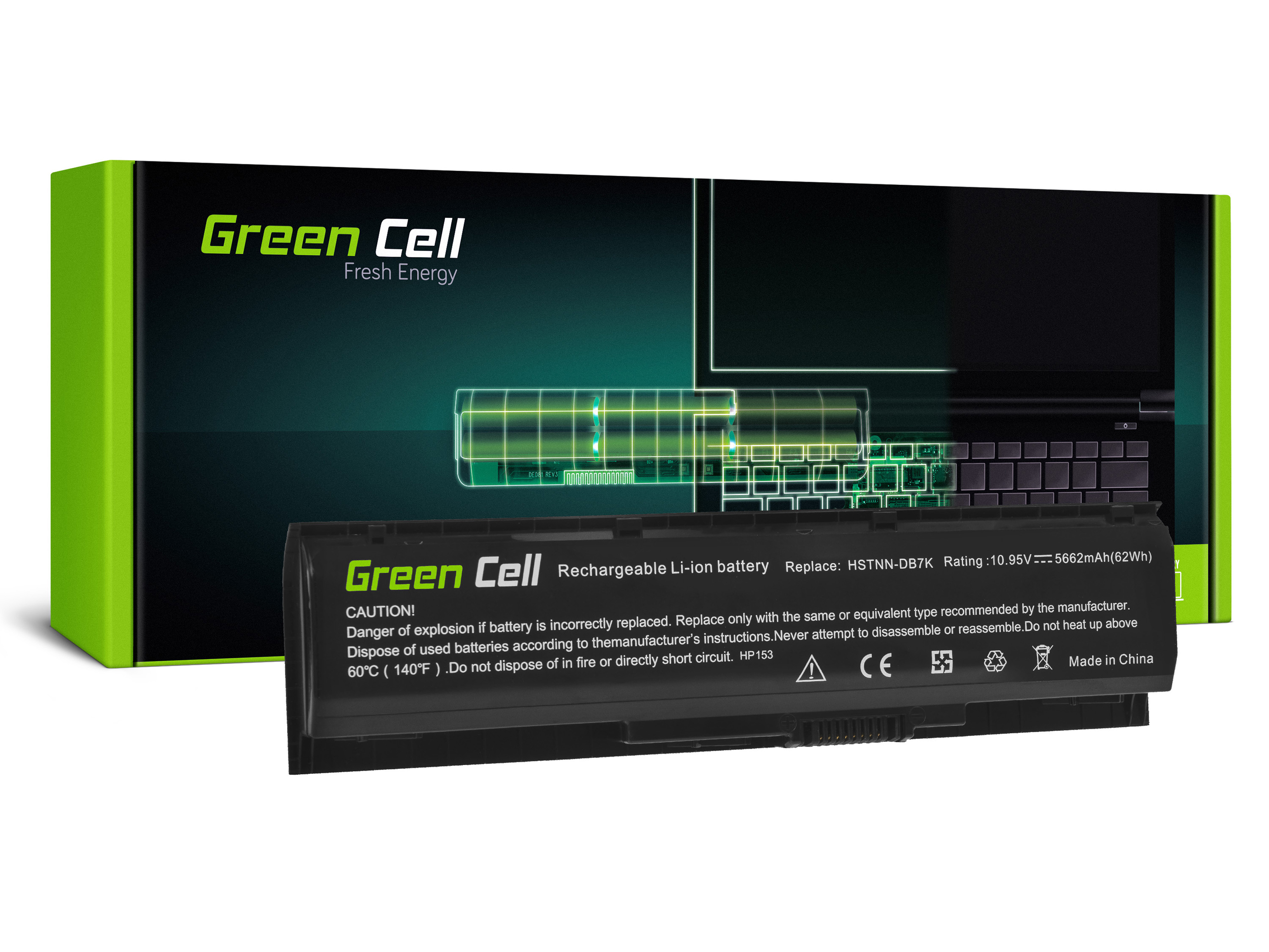 Green Cell Baterie PA06 HSTNN-DB7K pro HP Pavilion 17-AB 17-AB051NW 17-AB073NW