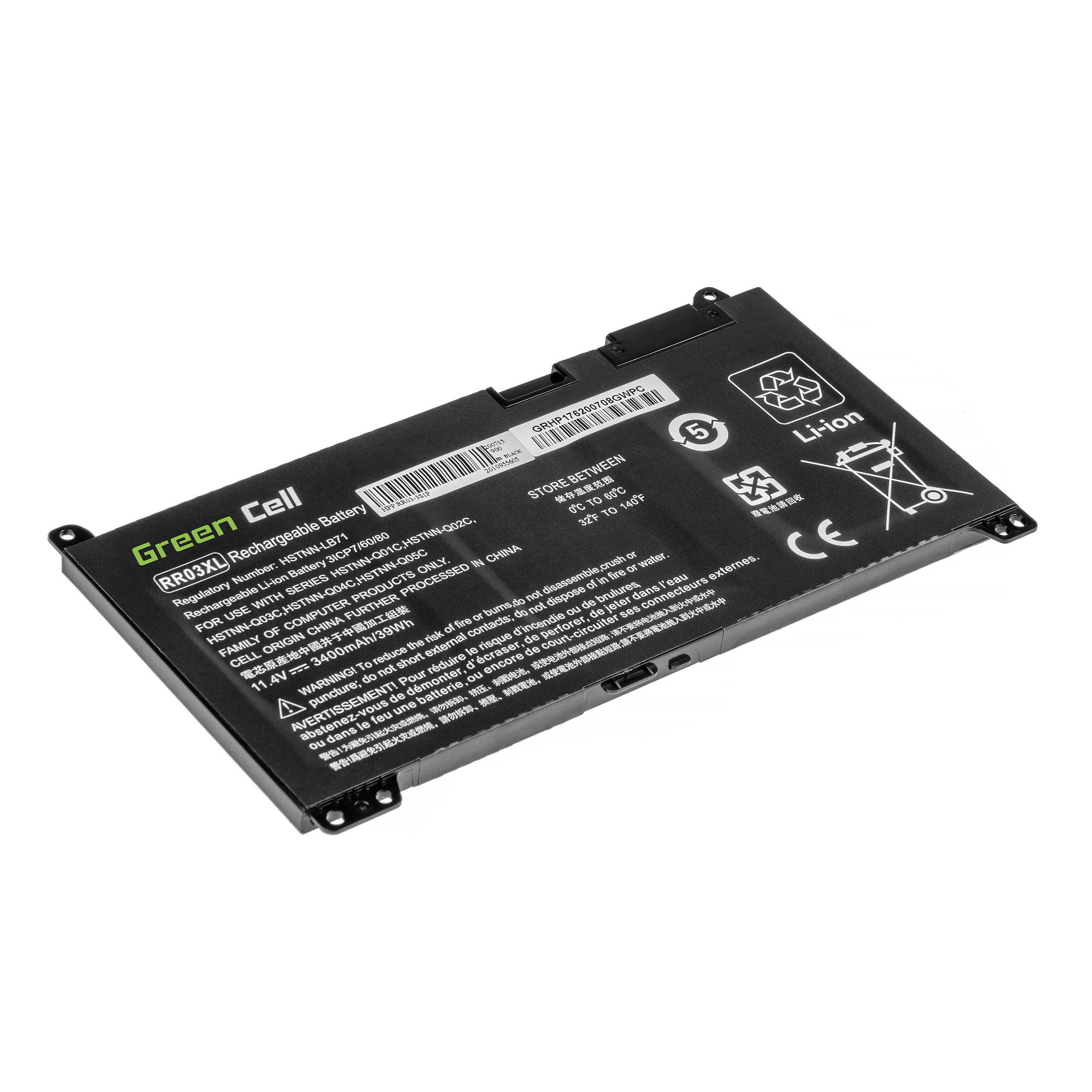 Green Cell Baterie RR03XL pro HP ProBook 430 G4 G5 440 G4 G5 450 G4 G5 455 G4 G5 470 G4 G5