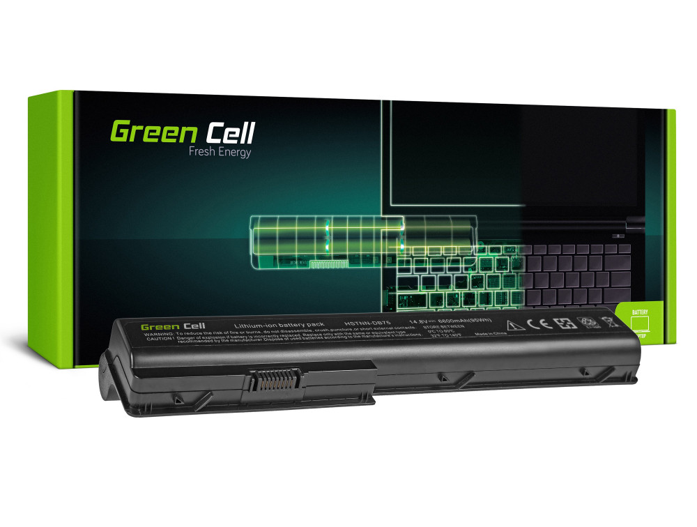 Green Cell akkumulátor HP Pavilion DV7 DV7T DV7Z DV8 / 14,4V 6600mAh