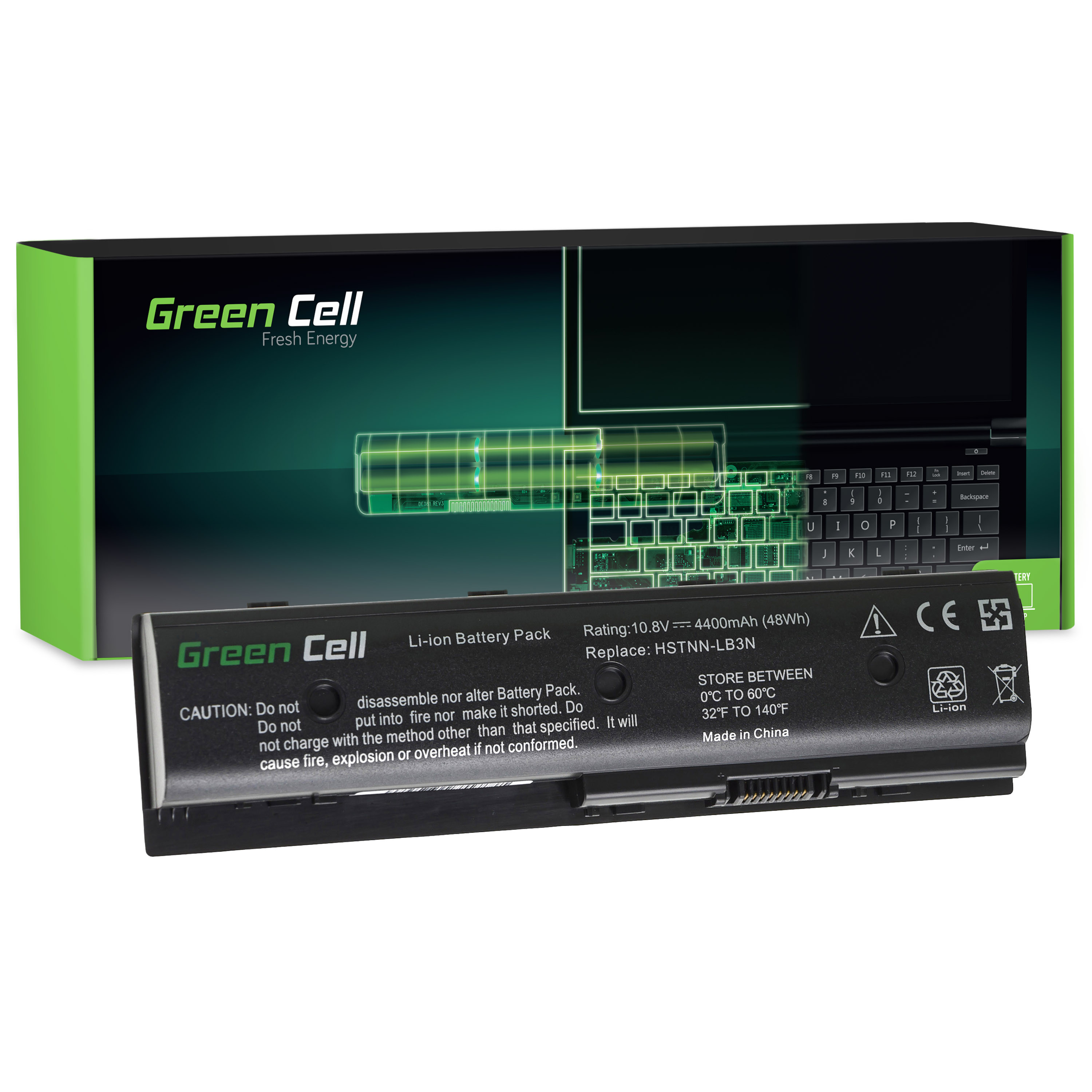 Green Cell Battery for HP Pavilion DV6-7000 DV7-7000 M6 / 11,1V 4400mAh