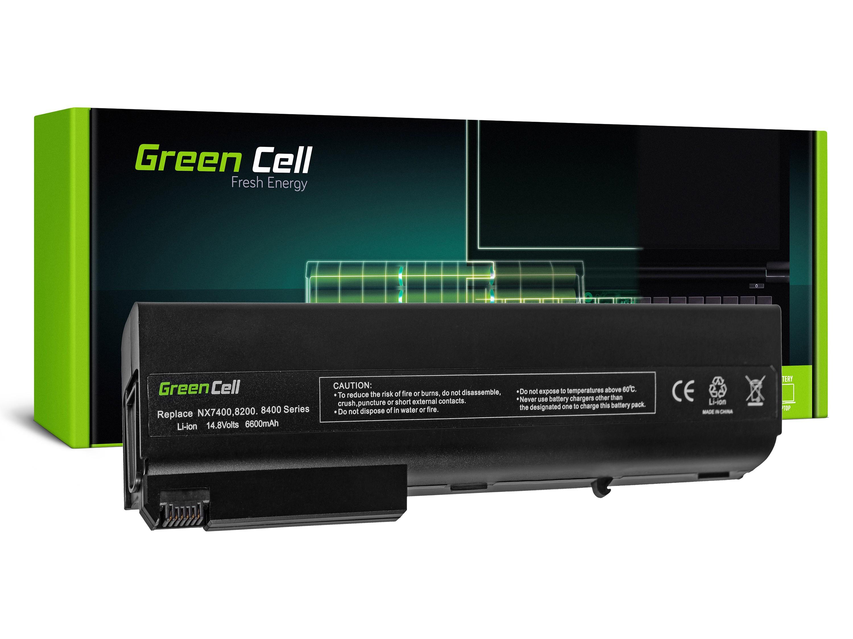 Green Cell HP34 Baterie HP Compaq NC8230 NX7400 NW8440 8510P 8510W NC8200 6600mAh Li-ion - neoriginální