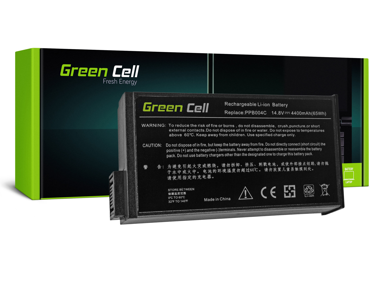 Green Cell HP37 Baterie Compaq EVO N800 N1000 Presario 900 1500 4400mAh Li-ion - neoriginální