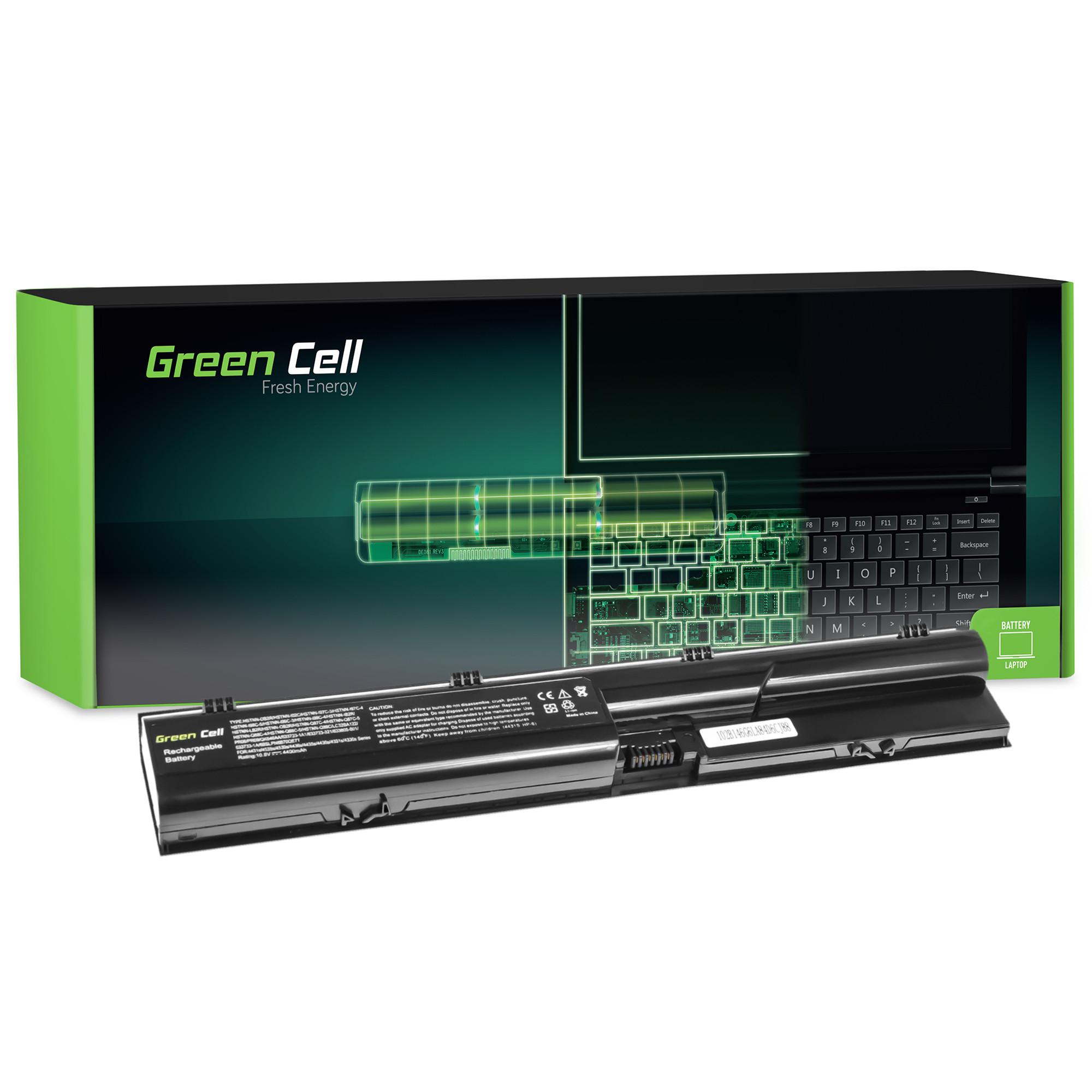 Green Cell HP43 Baterie HP PR06 do HP Probook 4330s 4430s 4440s 4530s 4540s 4400mAh Li-ion - neoriginální