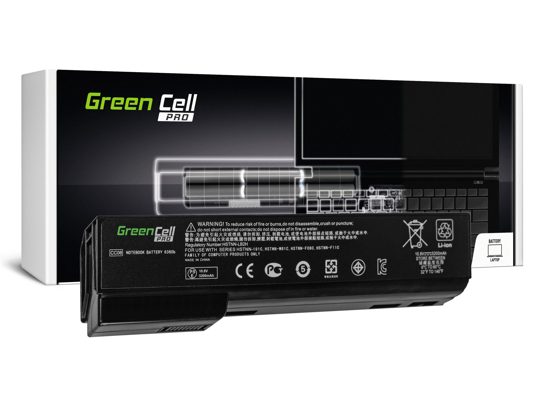 Green Cell HP50PRO Baterie HP EliteBook 8460p 8460w 8470p 8560p 8560w 8570p ProBook 6460b 6560b 6570b 5200mAh Li-ion - neoriginální
