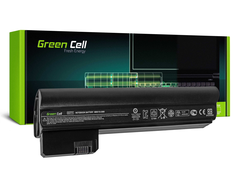 Green Cell Baterie pro HP Mini 110-3000 110-3100 / 11,1V 4400mAh